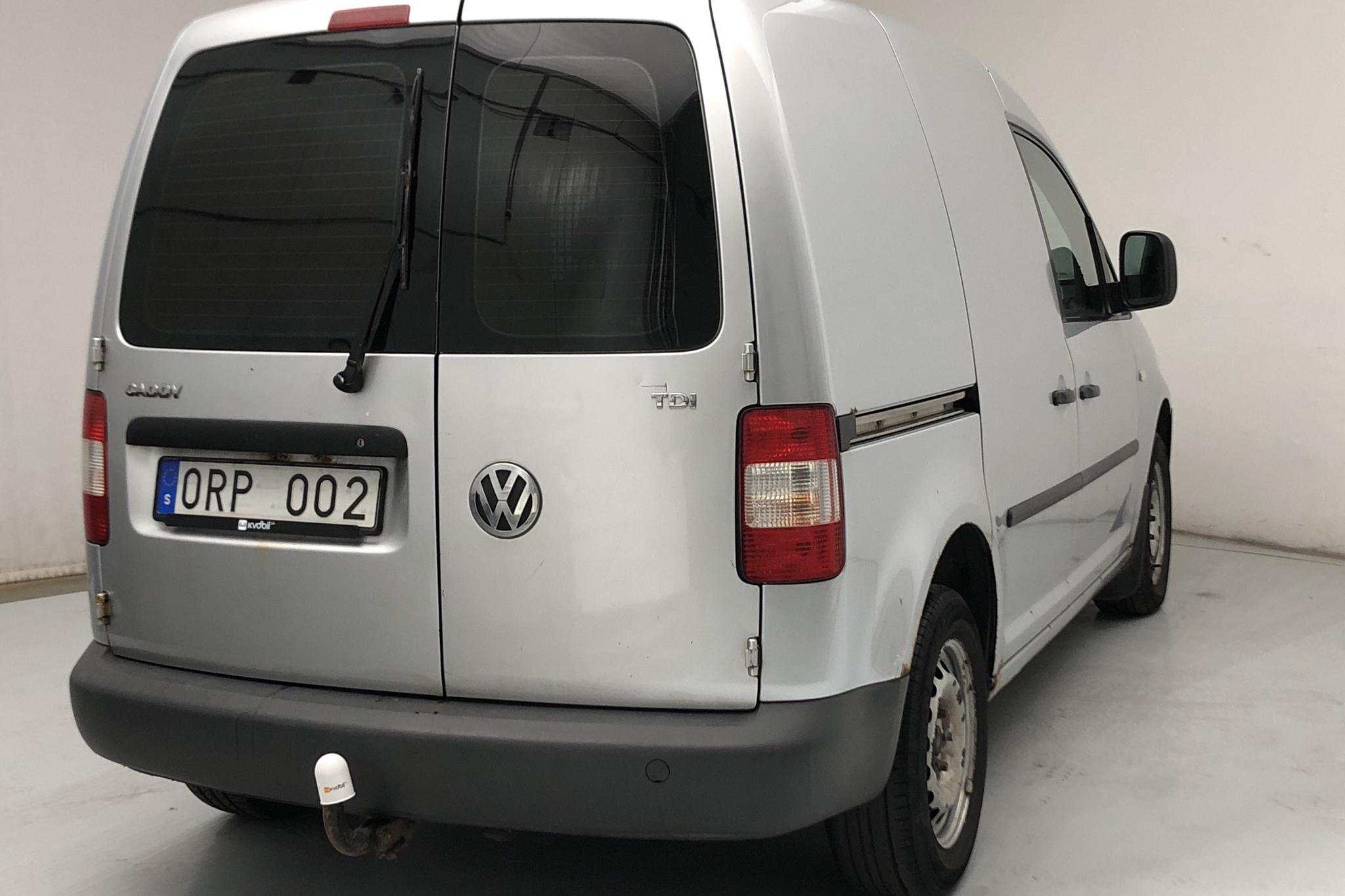 VW Caddy 1.9 TDI Skåp (105hk) - 121 620 km - Manual - silver - 2008