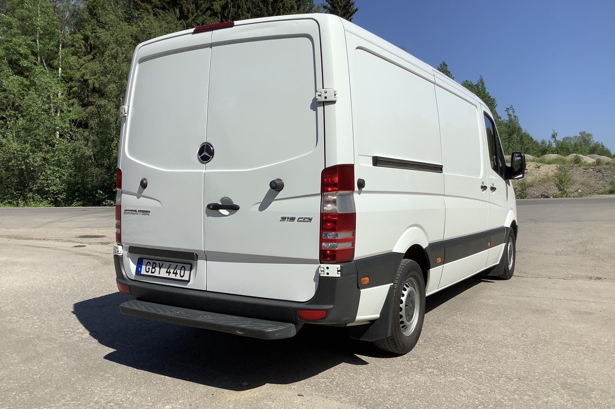 Mercedes Sprinter 316 CDI (163hk) - 24 691 mil - Manuell - vit - 2017