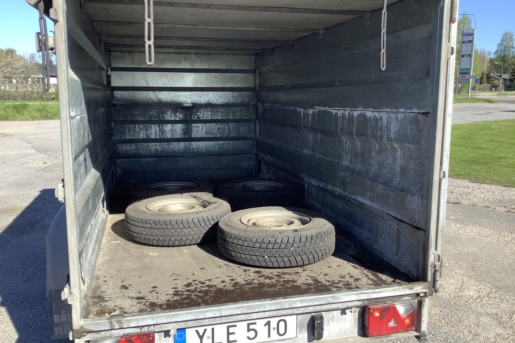 BÅLSTA SLÄPET MOD 3-2700J Släpvagn med tippfunktion - 0 km - gray - 2018