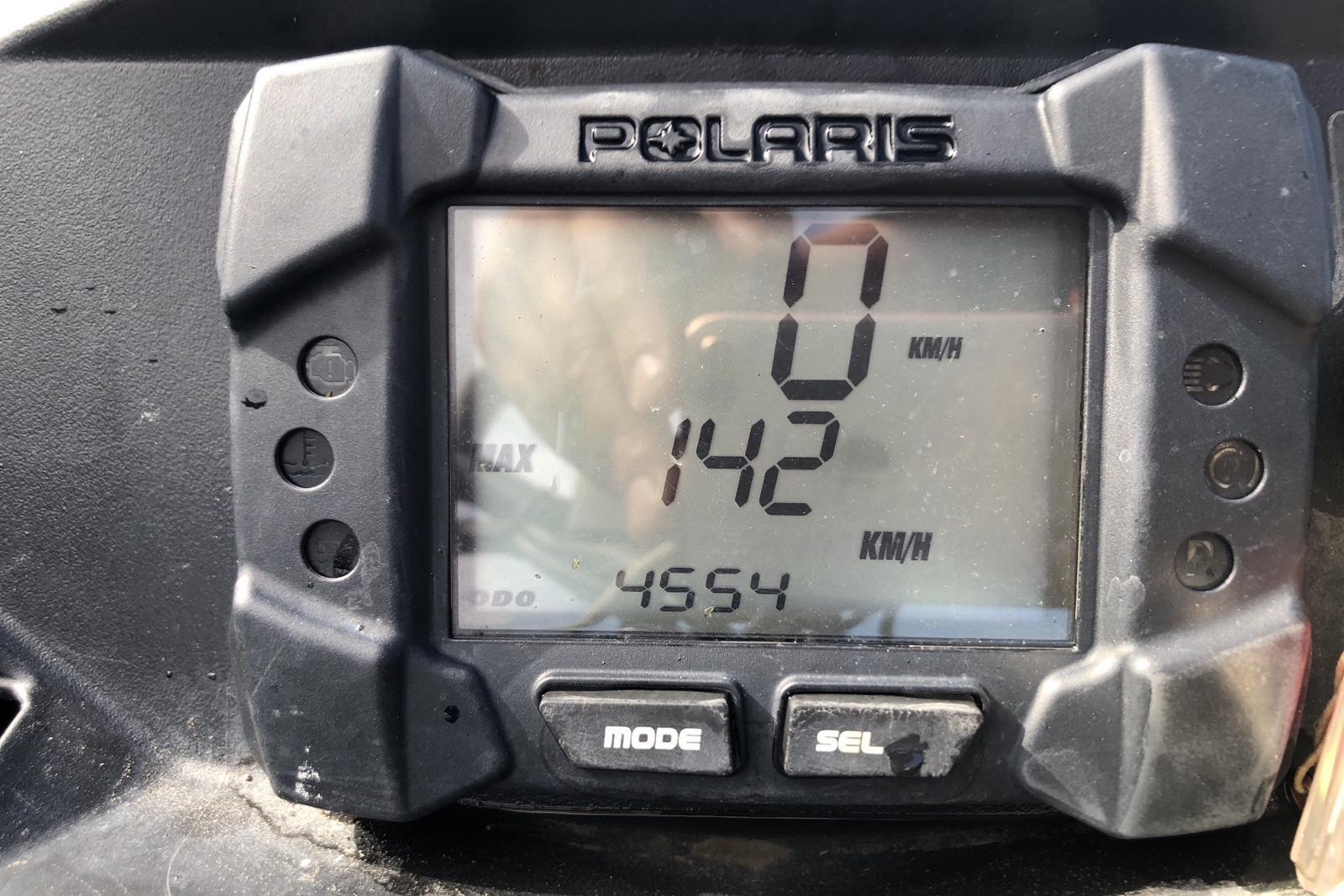 POLARIS RMK 600 155 Snöskoter - 455 mil - Automat - blå - 2014