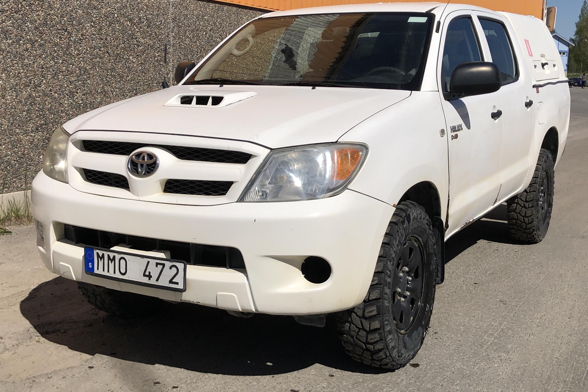 Toyota Hilux 2.5 D-4D 4WD (120hk)