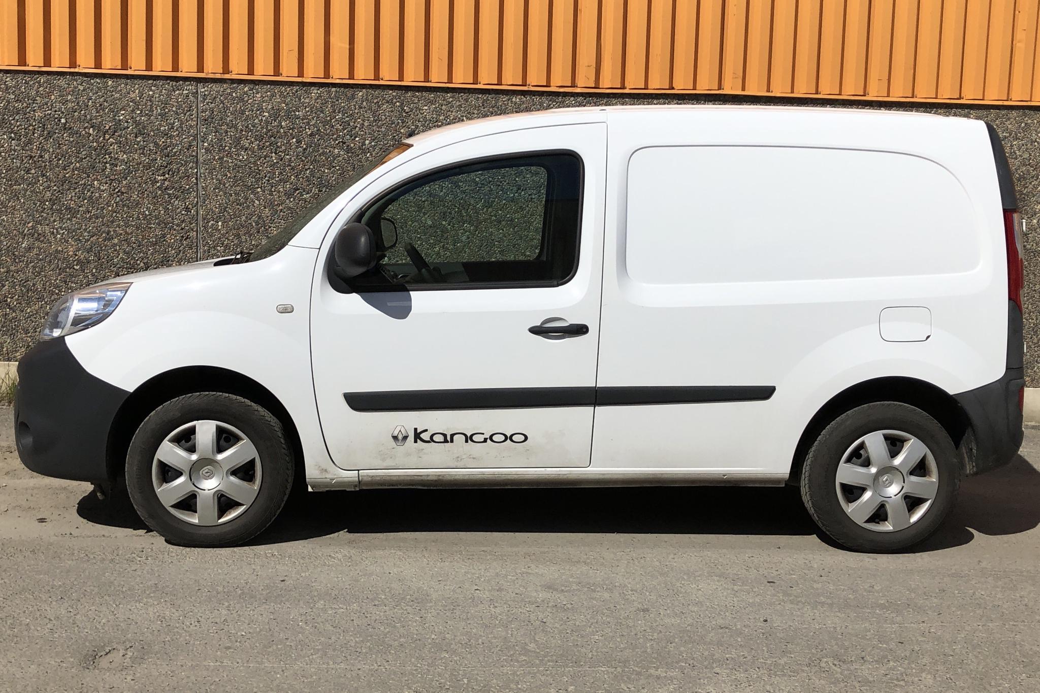 Renault Kangoo 1.5 dCi Skåp (75hk) - 3 941 mil - Manuell - vit - 2016