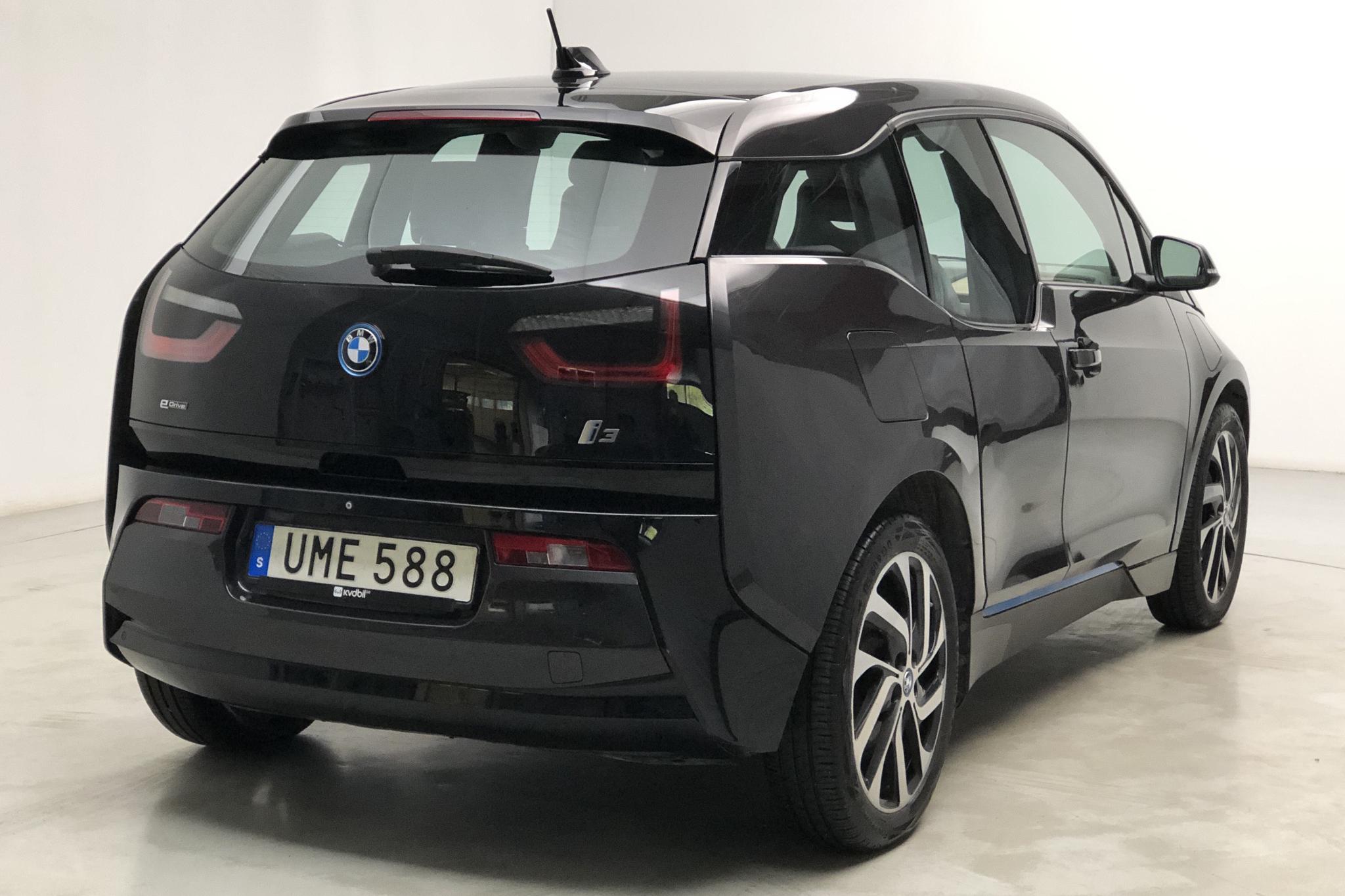 BMW i3 60Ah REX, I01 (170hk) - 105 650 km - Automatic - gray - 2015