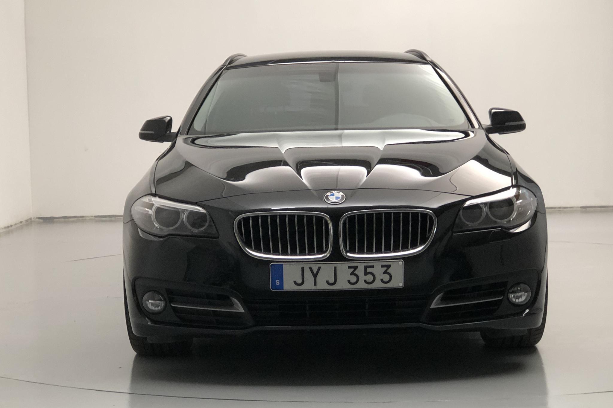 BMW 520d xDrive Touring, F11 (190hk) - 7 585 mil - Automat - svart - 2016