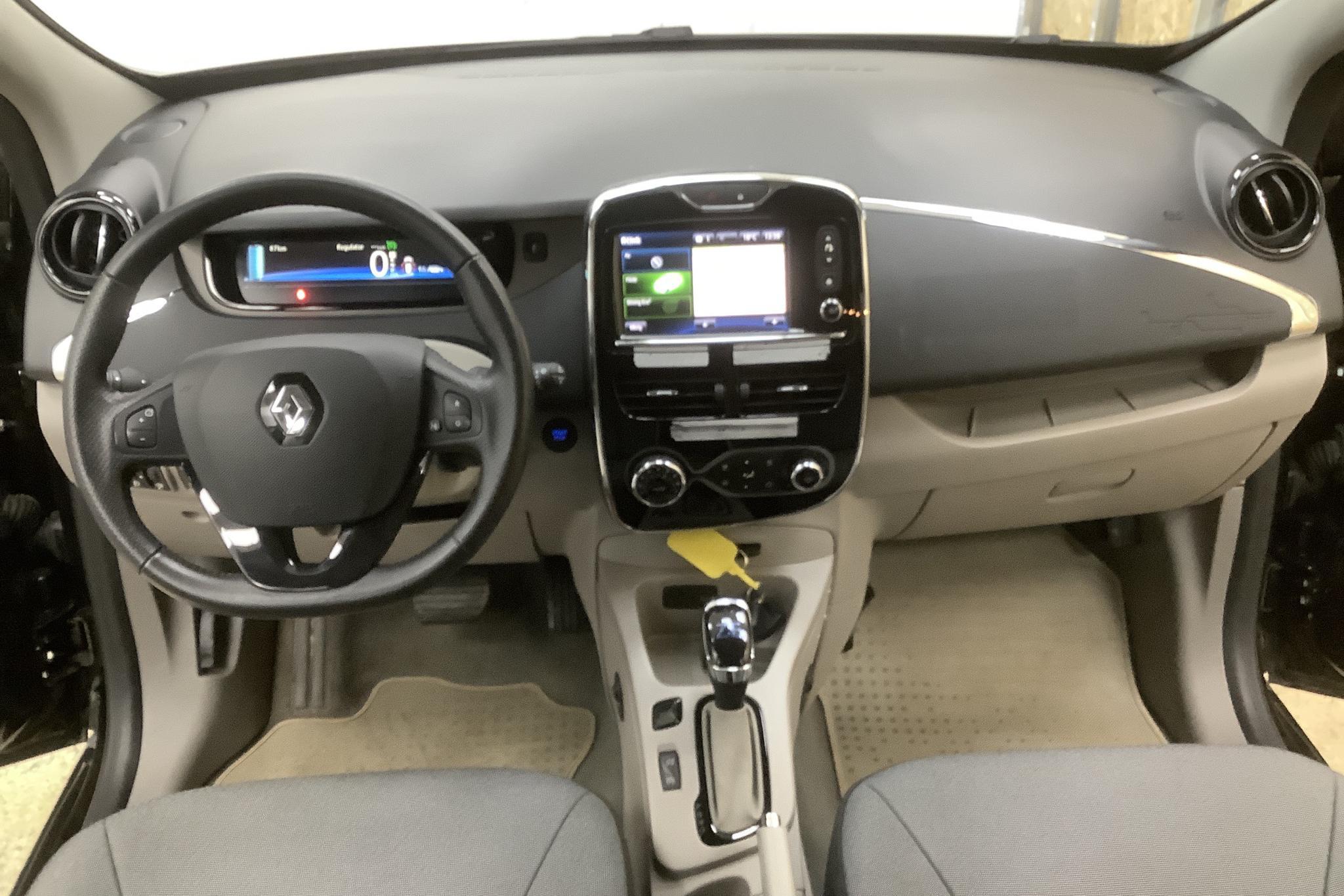 Renault Zoe 22 kWh R88 (88hk) - 2 021 mil - Automat - svart - 2015