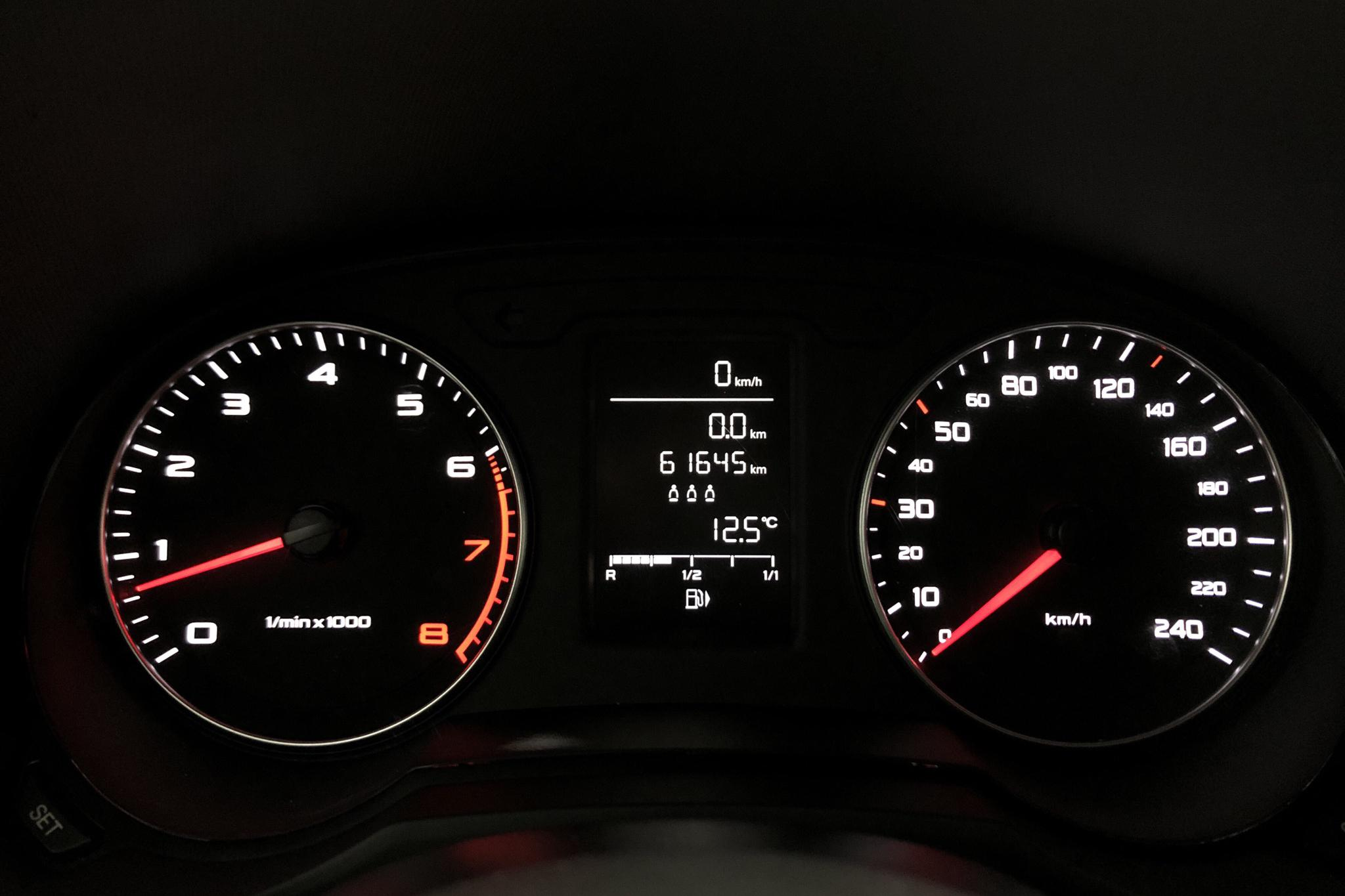 Audi A1 1.2 TFSI Sportback (86hk) - 6 164 mil - Manuell - silver - 2014