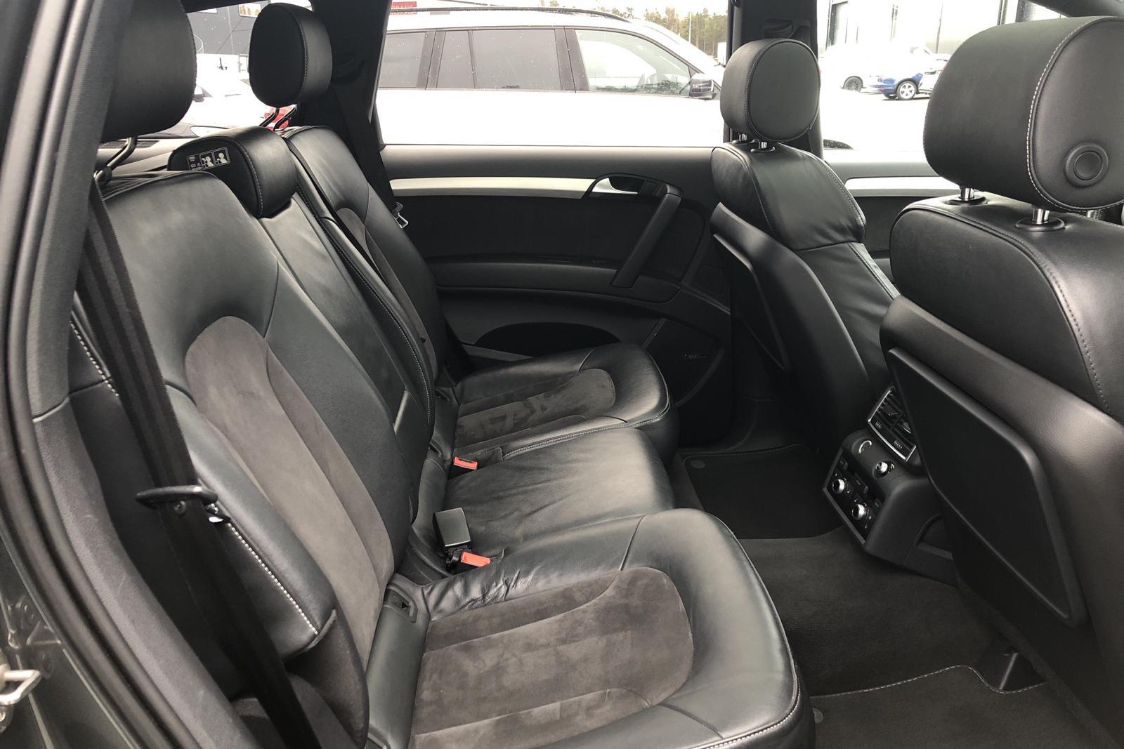 Audi Q7 4.2 TDI quattro (340hk) - 168 910 km - Automatic - gray - 2012