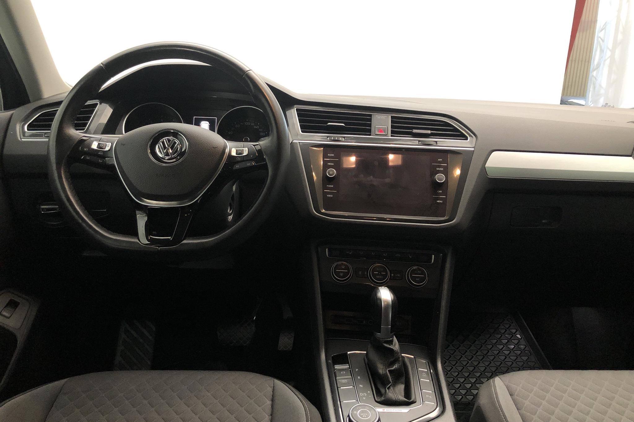 VW Tiguan 1.4 TSI 4MOTION (150hk) - 7 413 mil - Automat - silver - 2018