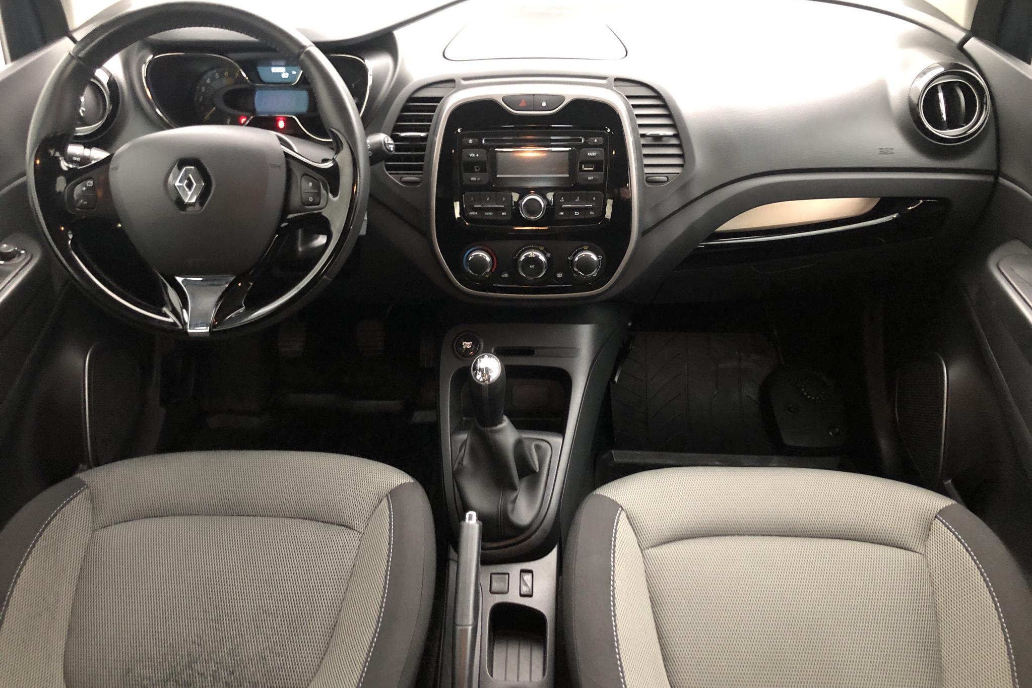 Renault Captur 0.9 TCe (90hk) - 9 328 mil - Manuell - blå - 2015