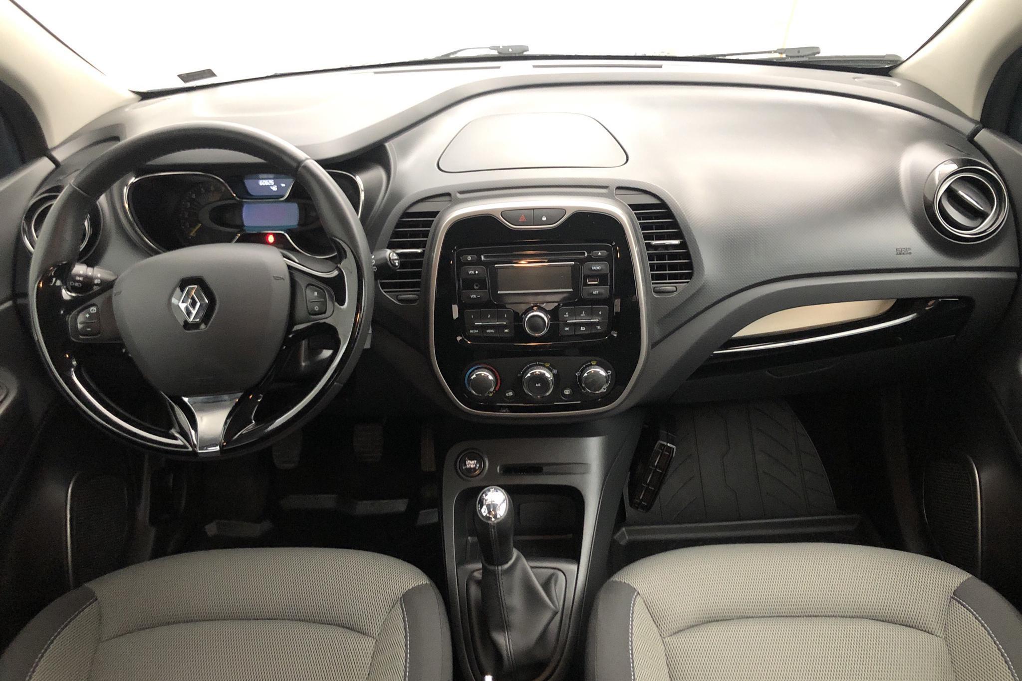 Renault Captur 0.9 TCe (90hk) - 60 620 km - Manual - blue - 2015