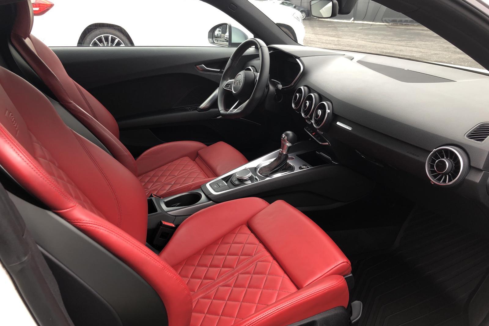 Audi TT S 2.0 TFSI Coupé quattro (310hk) - 57 200 km - Automatic - white - 2018