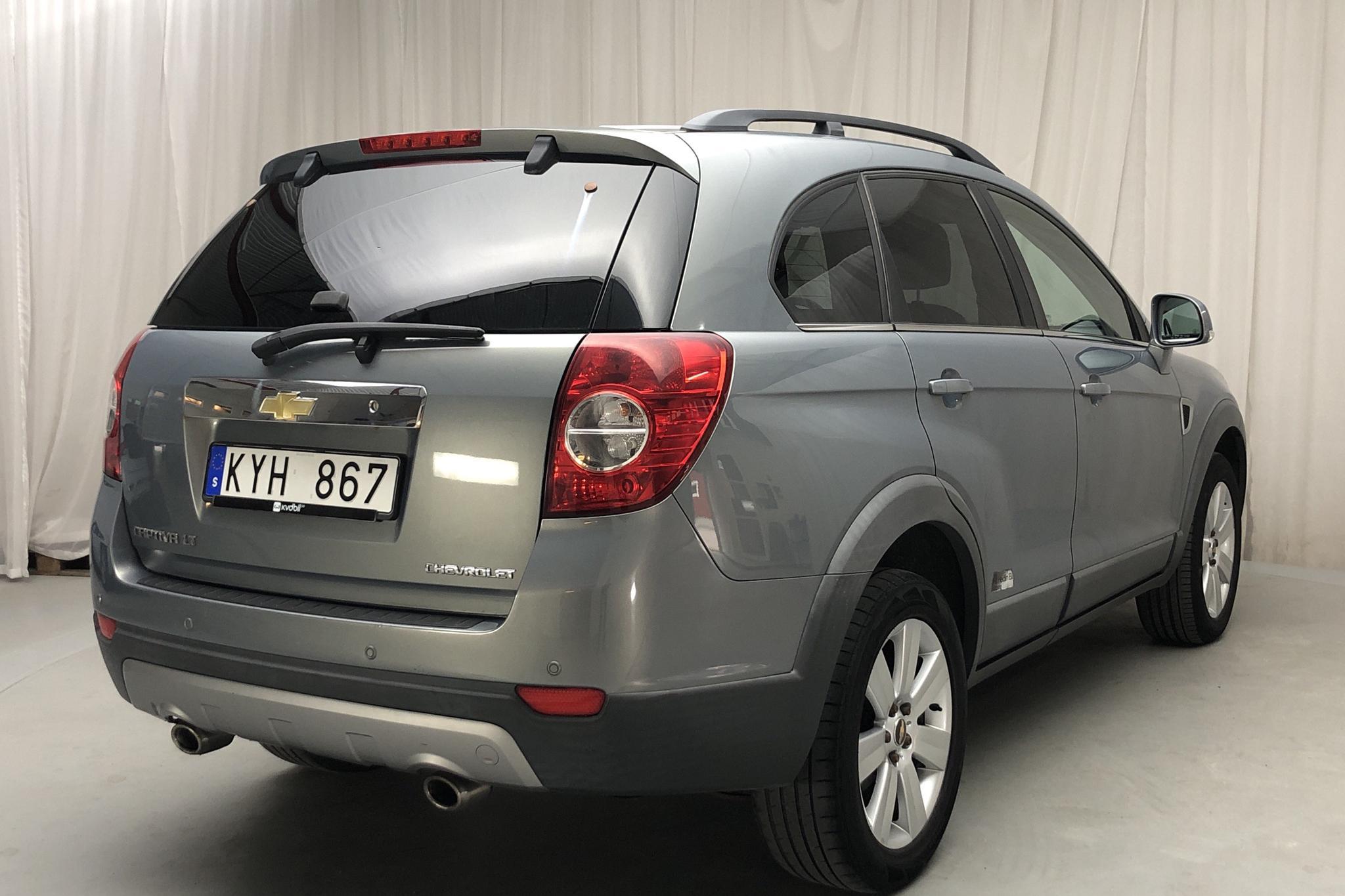 Chevrolet Captiva 2.0D 4WD (150hk) - 16 978 mil - Automat - grå - 2010
