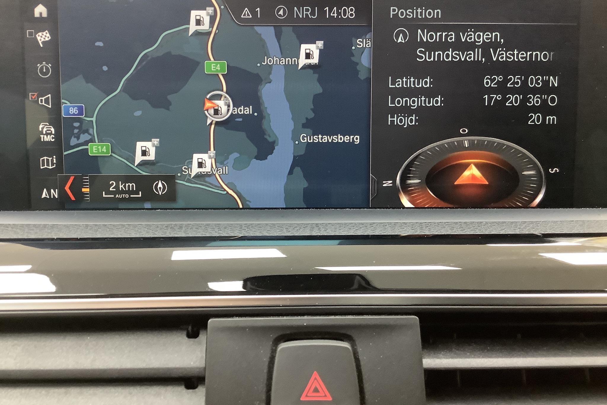 BMW 330e Sedan, F30 (252hk) - 67 030 km - Automatic - silver - 2018