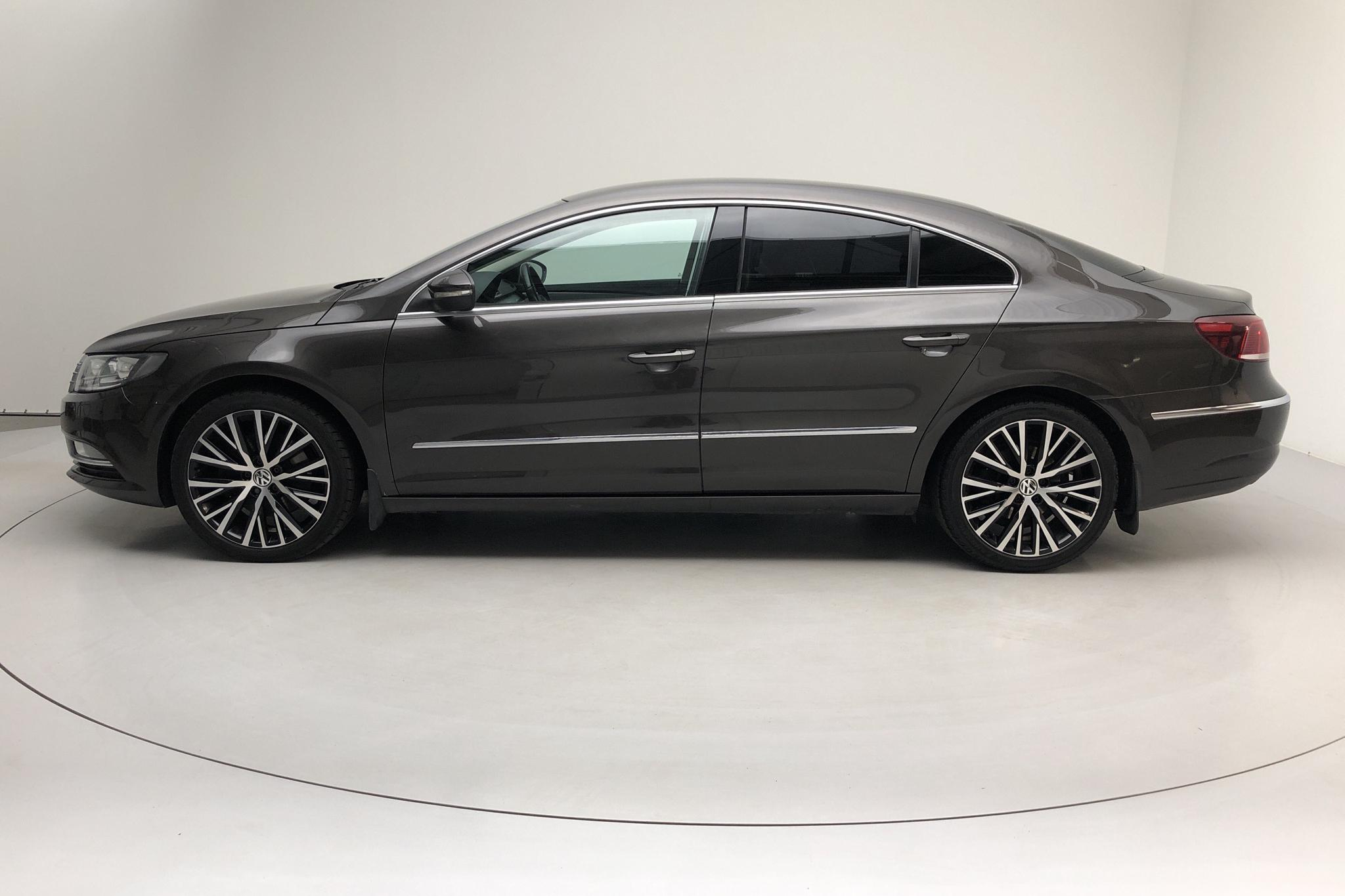 VW CC 2.0 TDI BlueMotion Technology (170hk) - 186 010 km - Automatic - Dark Brown - 2012