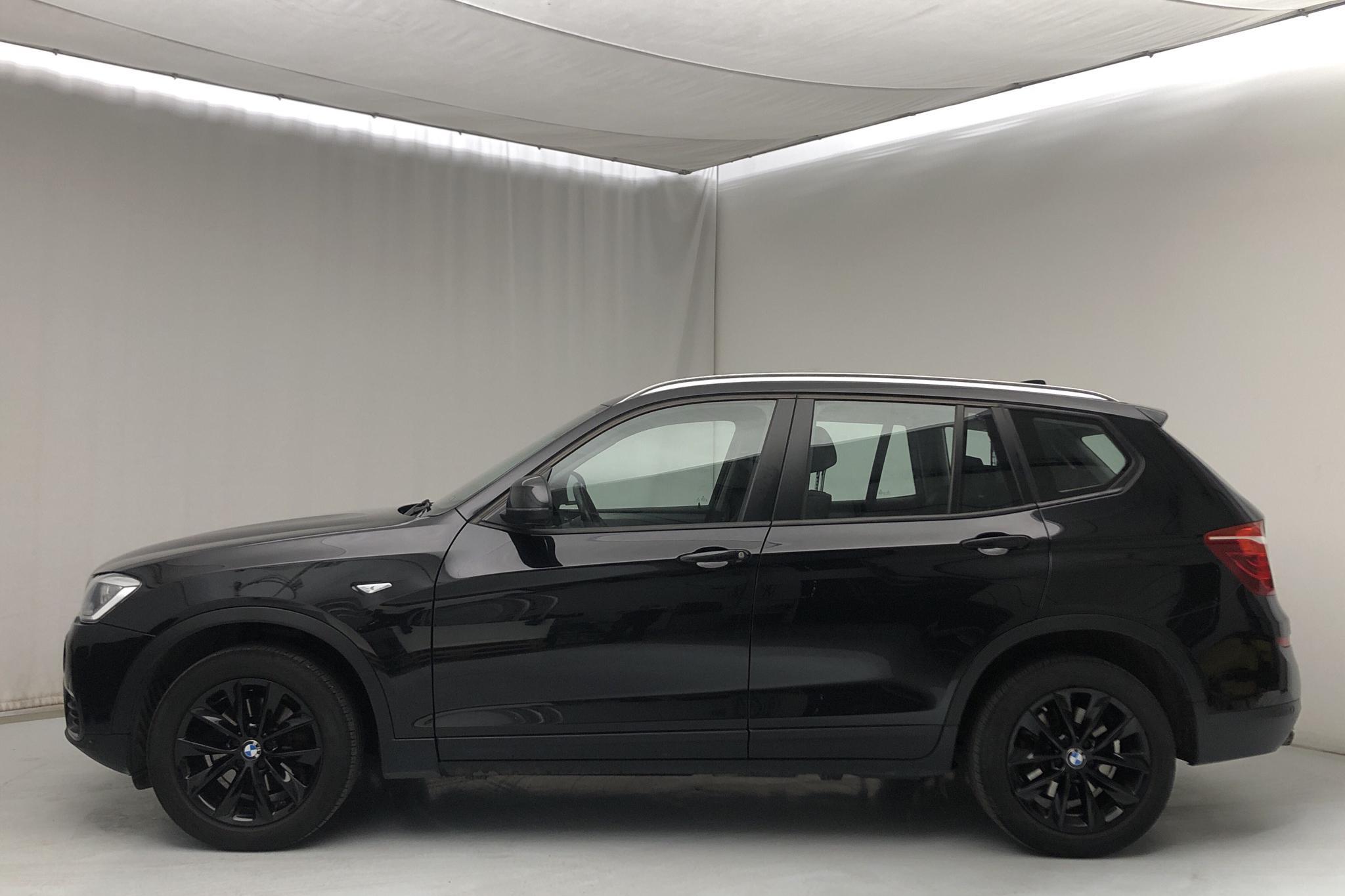 BMW X3 xDrive20d, F25 (190hk) - 13 141 mil - Automat - svart - 2015