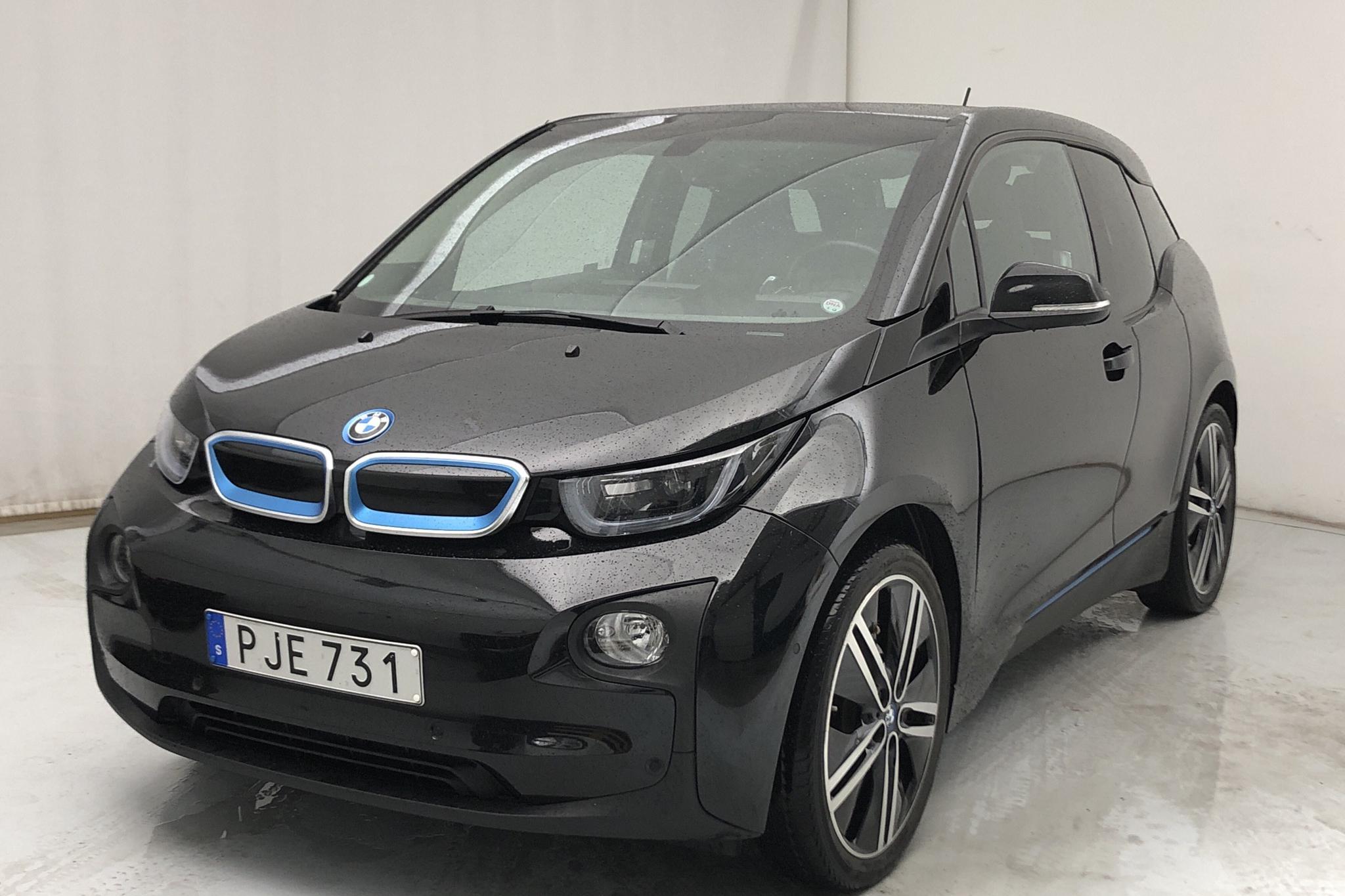 BMW i3 REX 94Ah, I01 (170hk) - 7 681 mil - Automat - svart - 2017