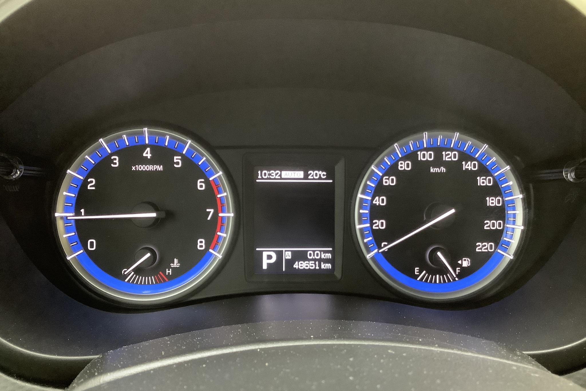 Suzuki S-Cross 1.6 4x4 (120hk) - 4 866 mil - Automat - vit - 2016