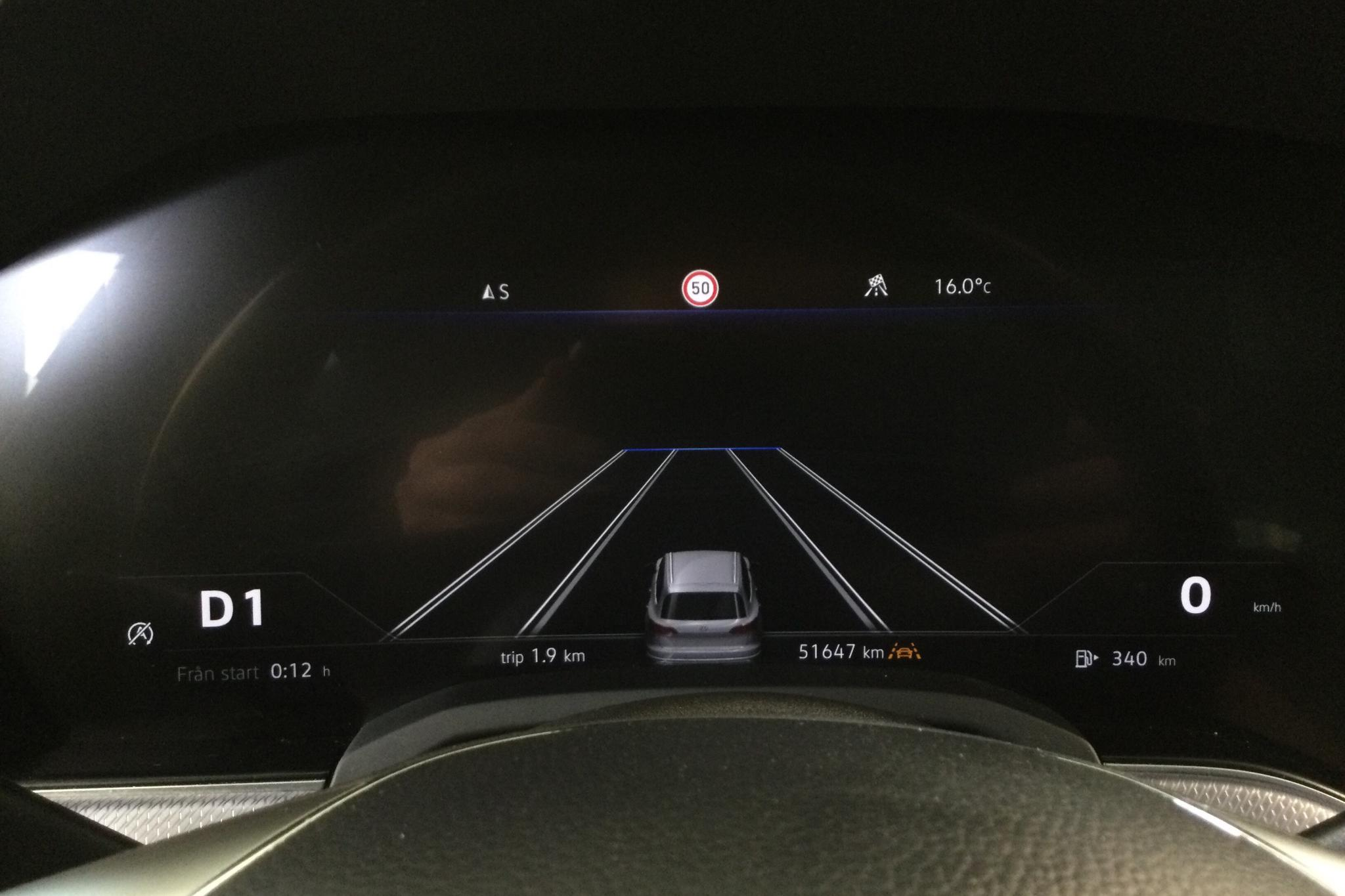 VW Touareg V6 TDI 4Motion (286hk) - 51 640 km - Automatic - black - 2018