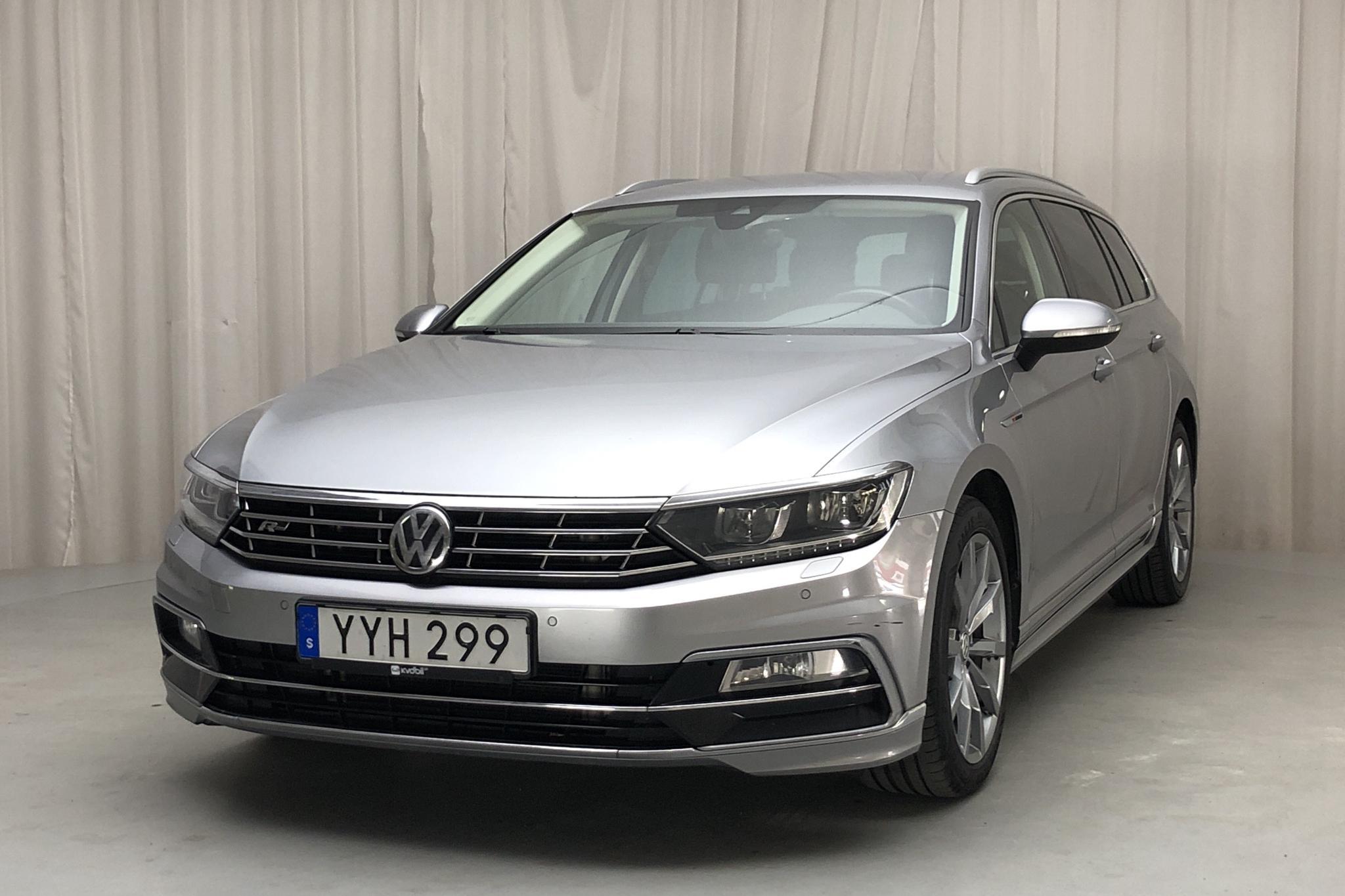 VW Passat 2.0 TDI Sportscombi 4MOTION (190hk) - 15 216 mil - Automat - silver - 2018