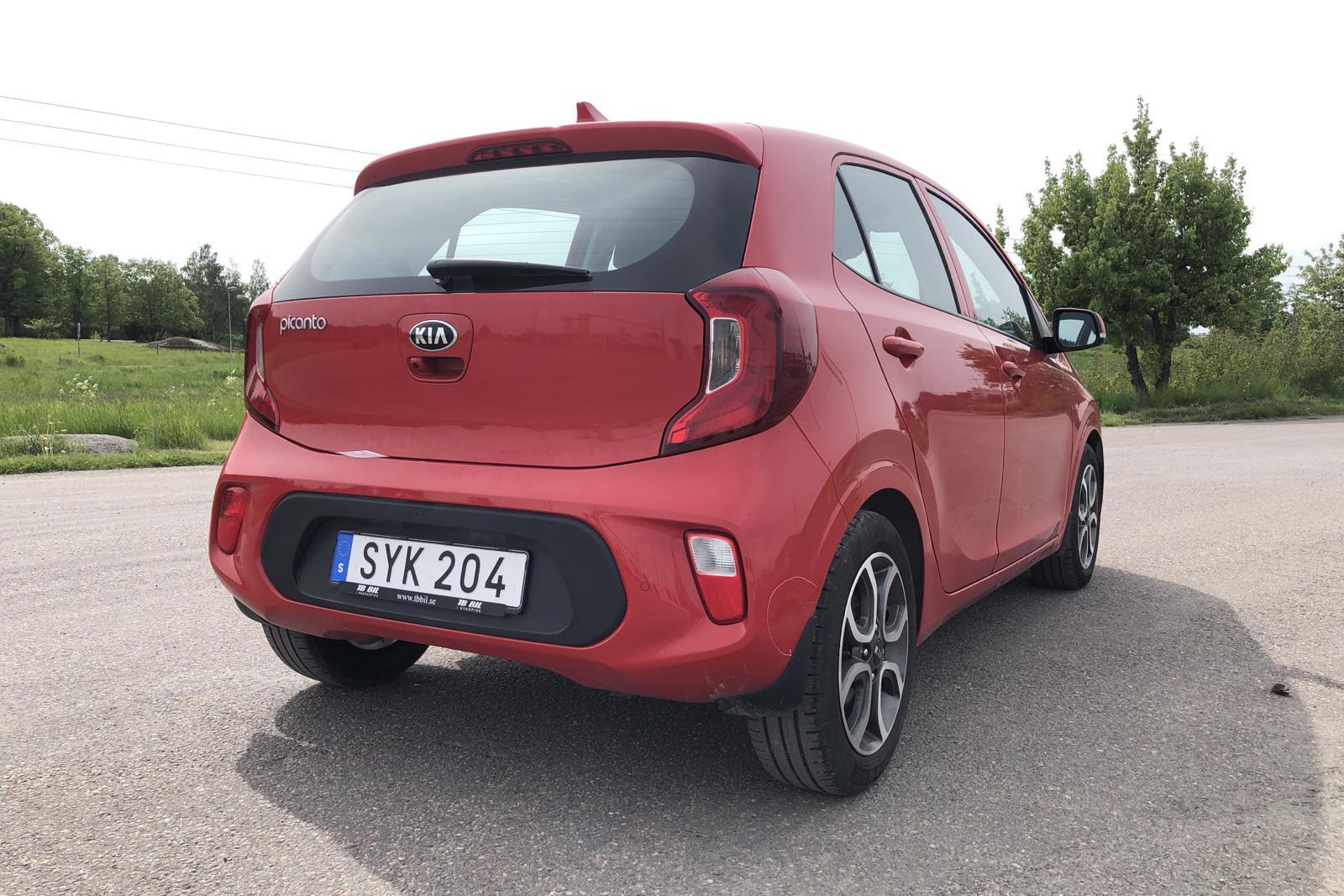 KIA Picanto 1.0 5dr (67hk) - 2 543 mil - Manuell - röd - 2019