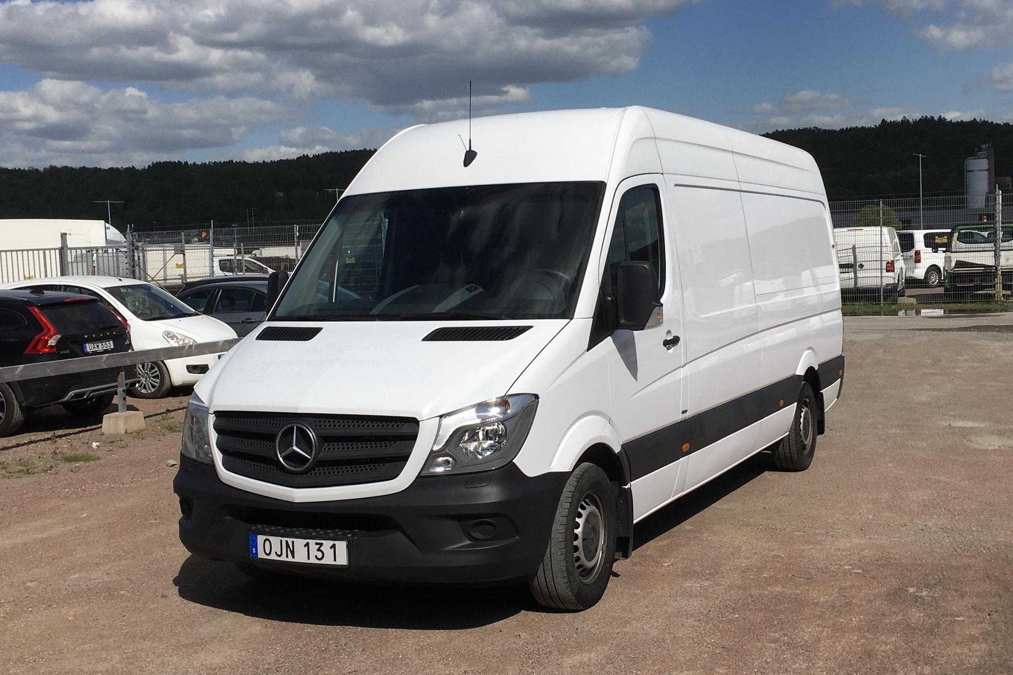 Mercedes Sprinter 316 CDI (163hk) - 217 290 km - Manual - white - 2017