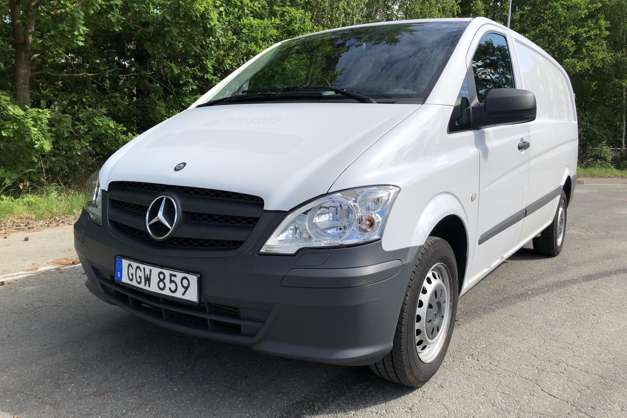 Mercedes Vito 113 CDI W639 (136hk)