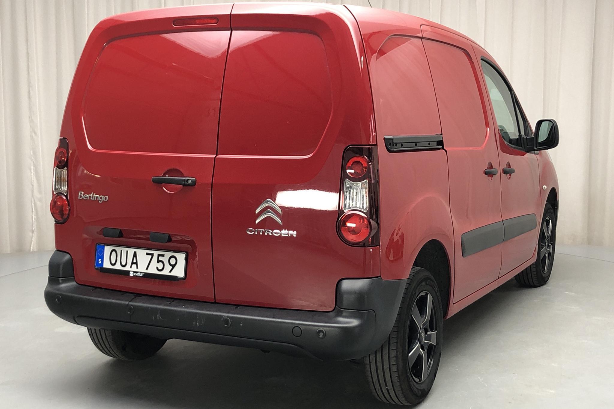 Citroen Berlingo III 1.6 HDi Skåp (75hk) - 10 991 mil - Manuell - röd - 2015