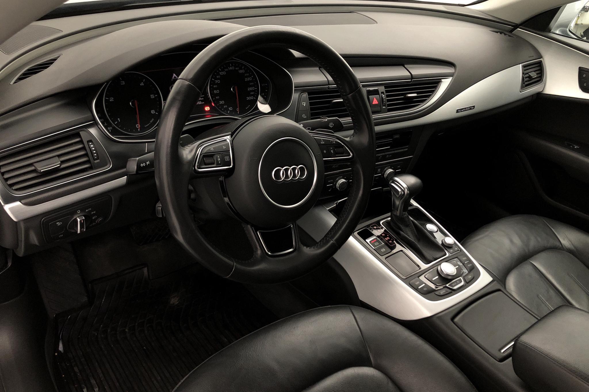 Audi A7 3.0 TDI Sportback quattro (204hk) - 132 760 km - Automatic - gray - 2014
