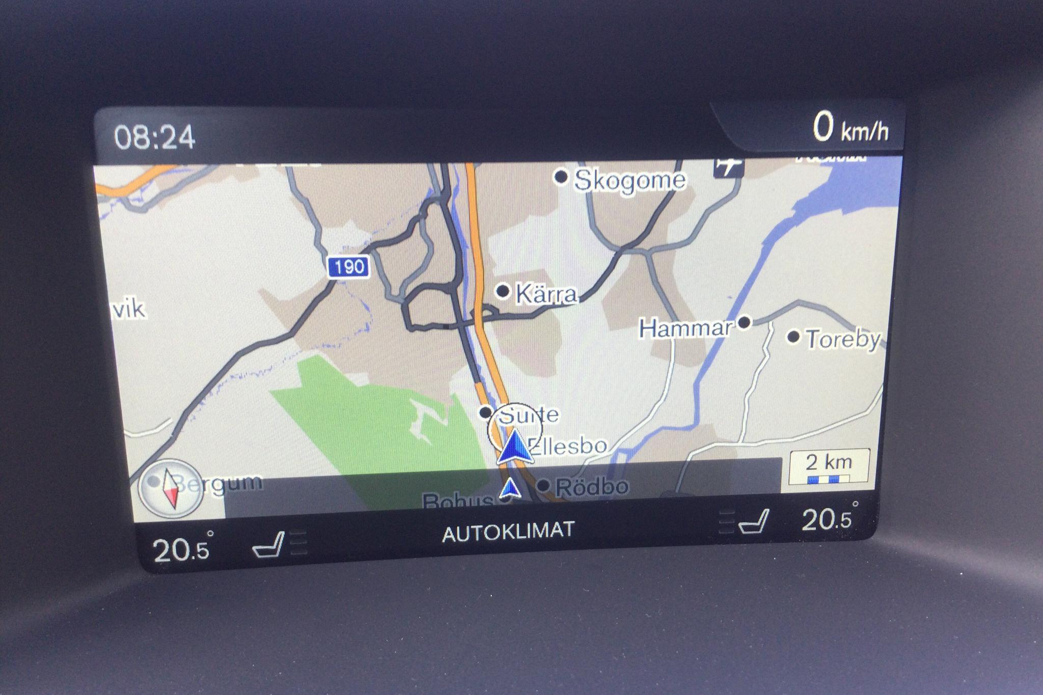 Volvo V60 D4 Cross Country (190hk) - 162 480 km - Automatic - white - 2017