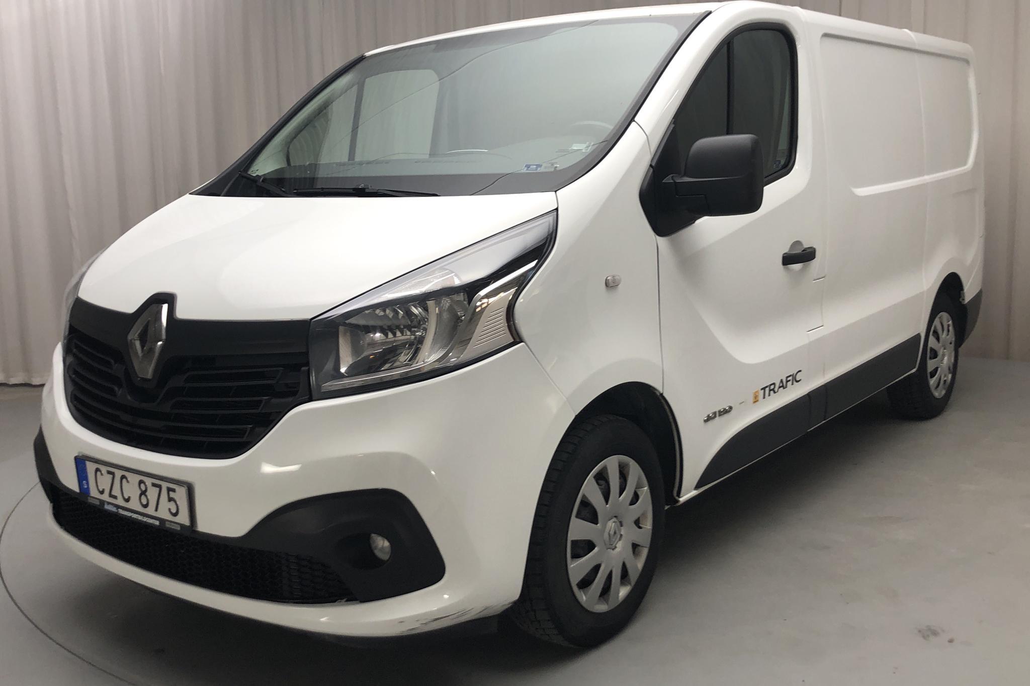 Renault Trafic 1.6 dCi Skåp (120hk) - 250 930 km - Manual - white - 2015