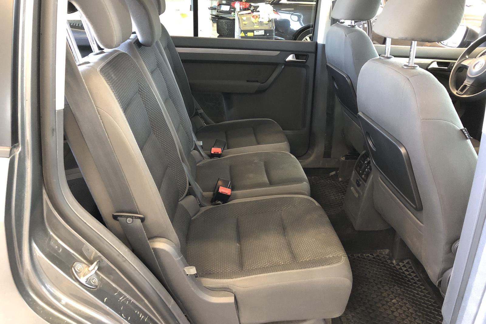 VW Touran 1.4 TGI EcoFuel (150hk) - 162 160 km - Manual - Dark Grey - 2011
