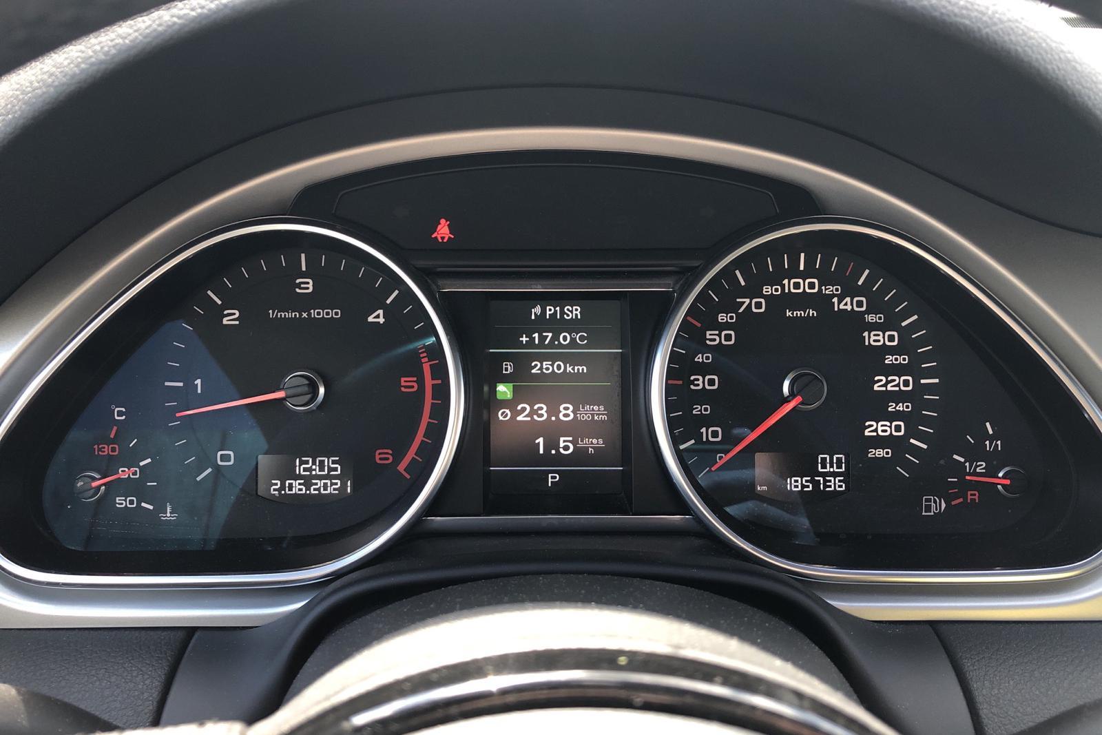 Audi Q7 4.2 TDI quattro (340hk) - 18 573 mil - Automat - svart - 2012