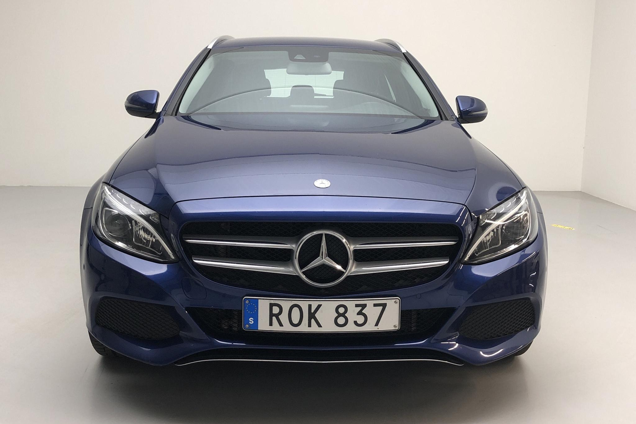 Mercedes C 350 e Kombi S205 (211hk) - 12 808 mil - Automat - blå - 2016