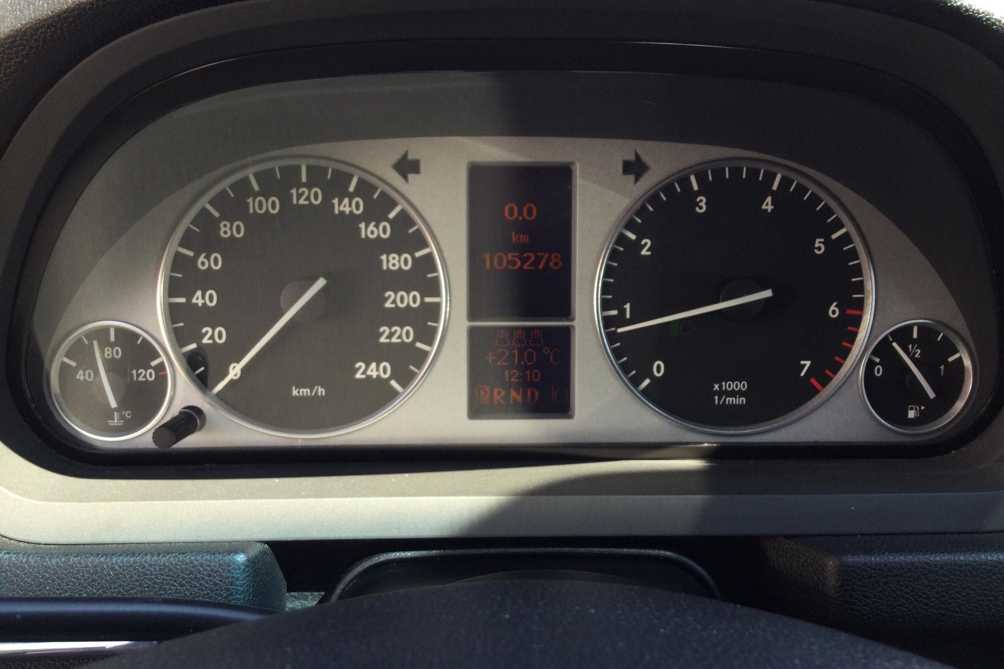 Mercedes B 200 Turbo (193hk) - 105 270 km - Automatic - black - 2006