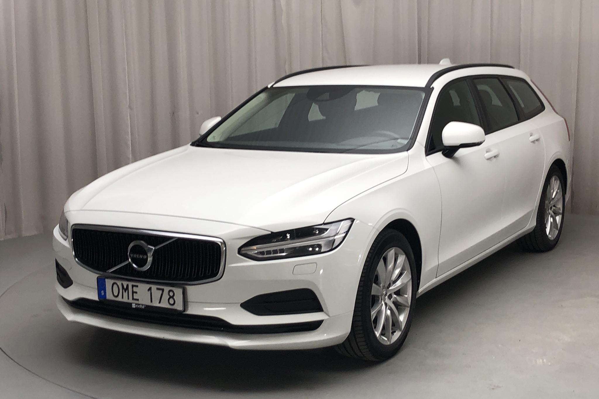 Volvo V90 T5 (254hk) - 95 980 km - Automatic - white - 2018