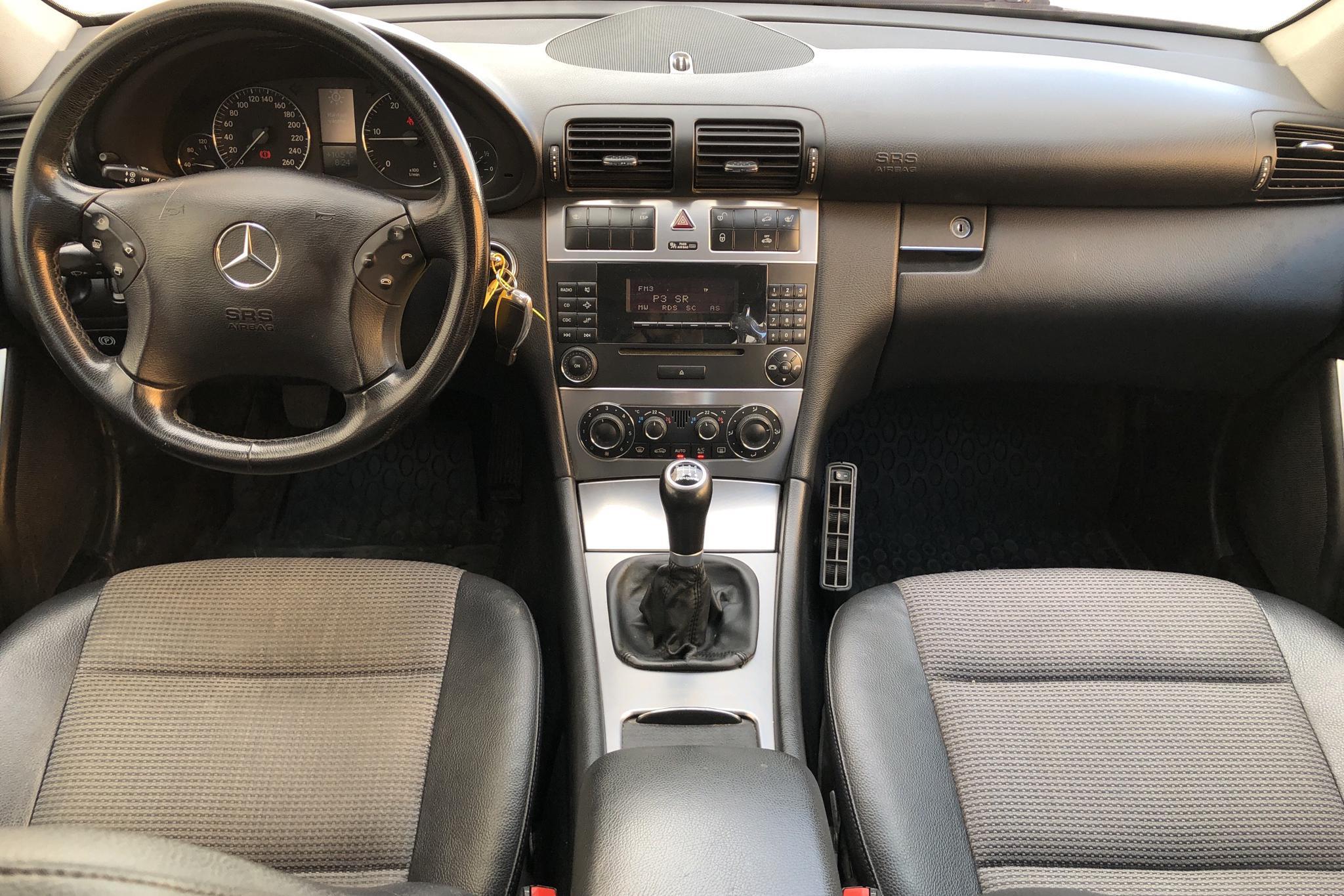 Mercedes C 220 CDI Kombi W203 (150hk) - 20 725 mil - Manuell - silver - 2007