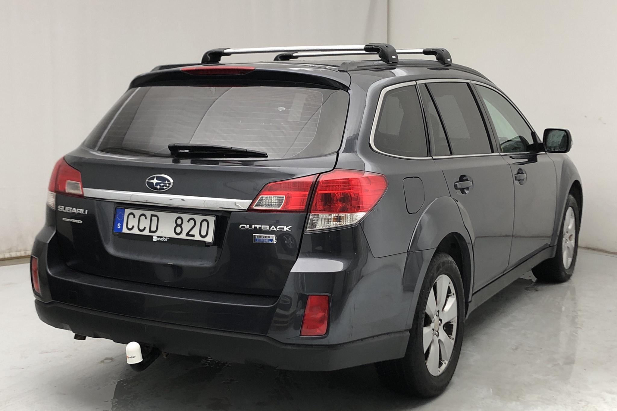 Subaru Outback 2.0D (150hk) - 239 050 km - Manual - Dark Grey - 2011