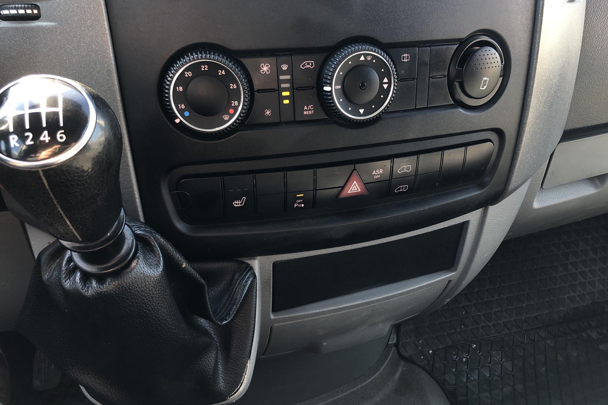 VW Crafter 35 2.0 TDI Skåp (109hk) - 16 917 mil - Manuell - vit - 2015