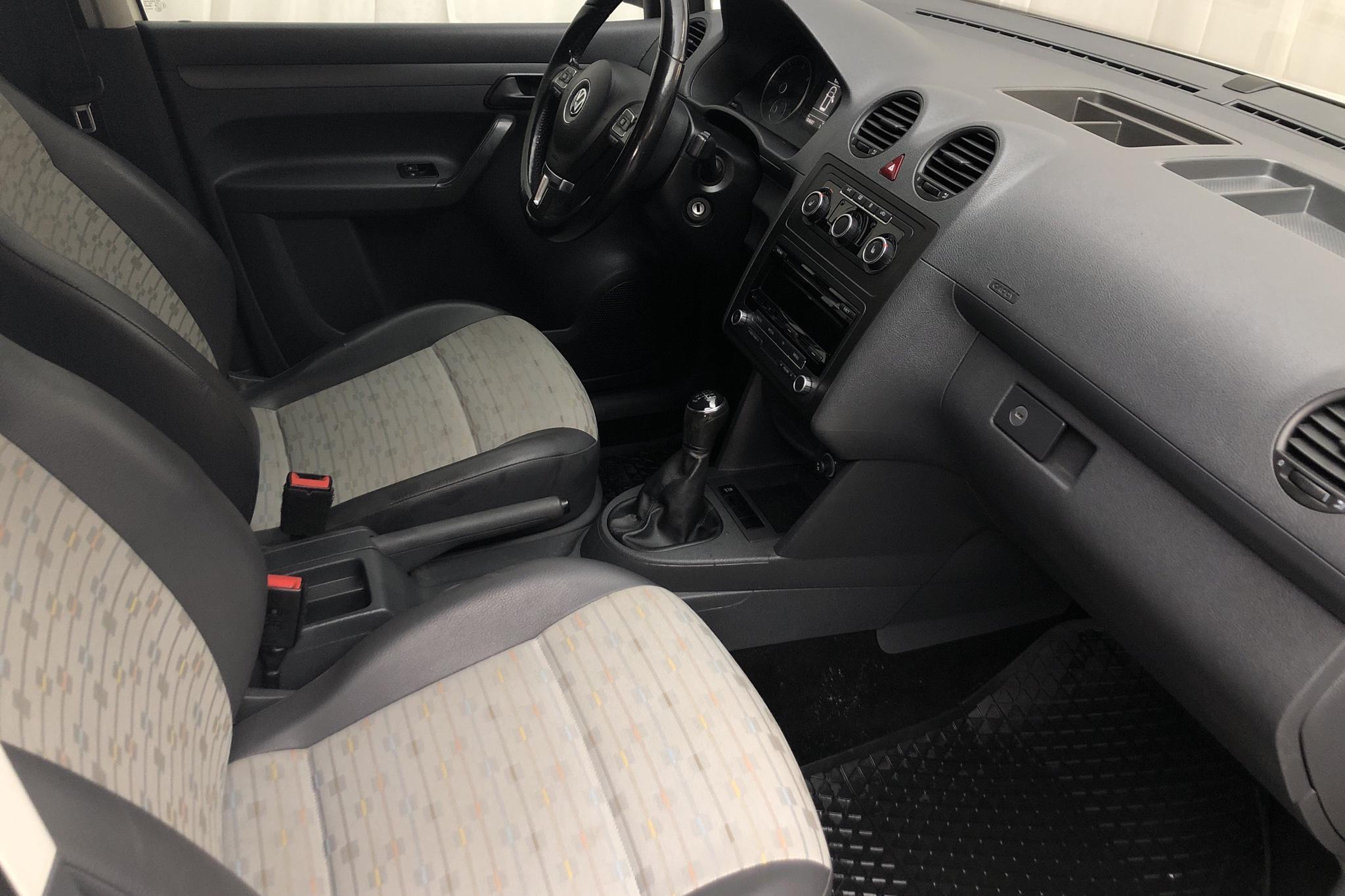 VW Caddy 1.6 TDI Skåp (75hk) - 184 680 km - Manual - white - 2014