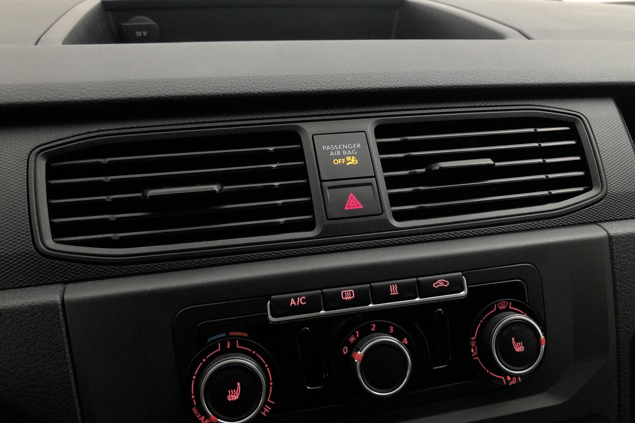 VW Caddy 1.6 TDI Skåp (75hk) - 15 539 mil - Manuell - vit - 2016
