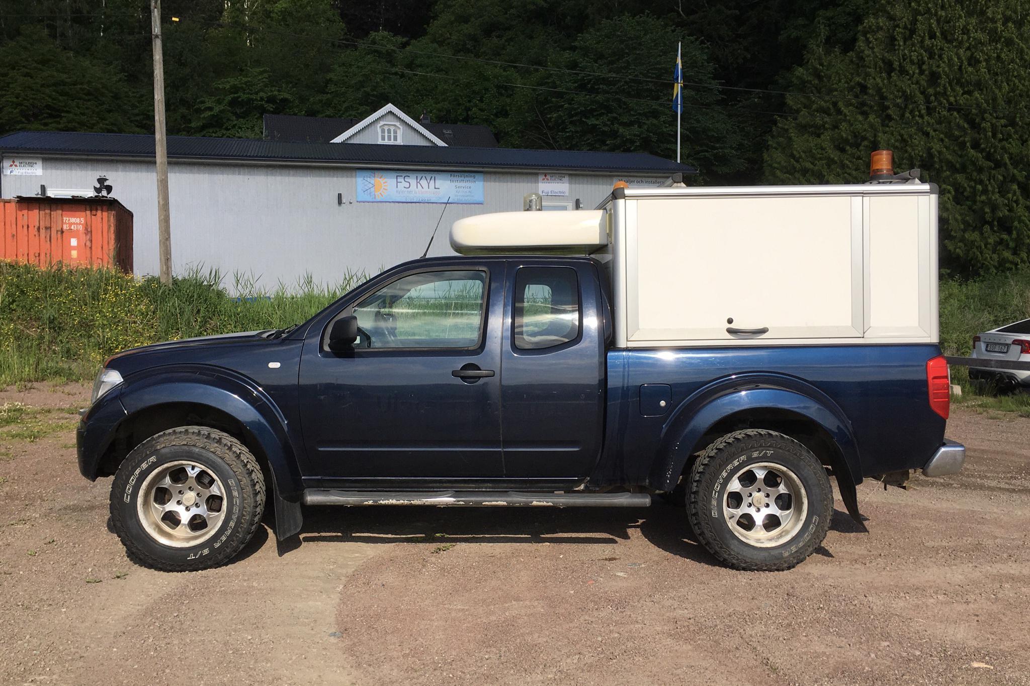 Nissan Navara 2.5 dCi 4WD (174hk) - 18 170 mil - Manuell - Dark Blue - 2007