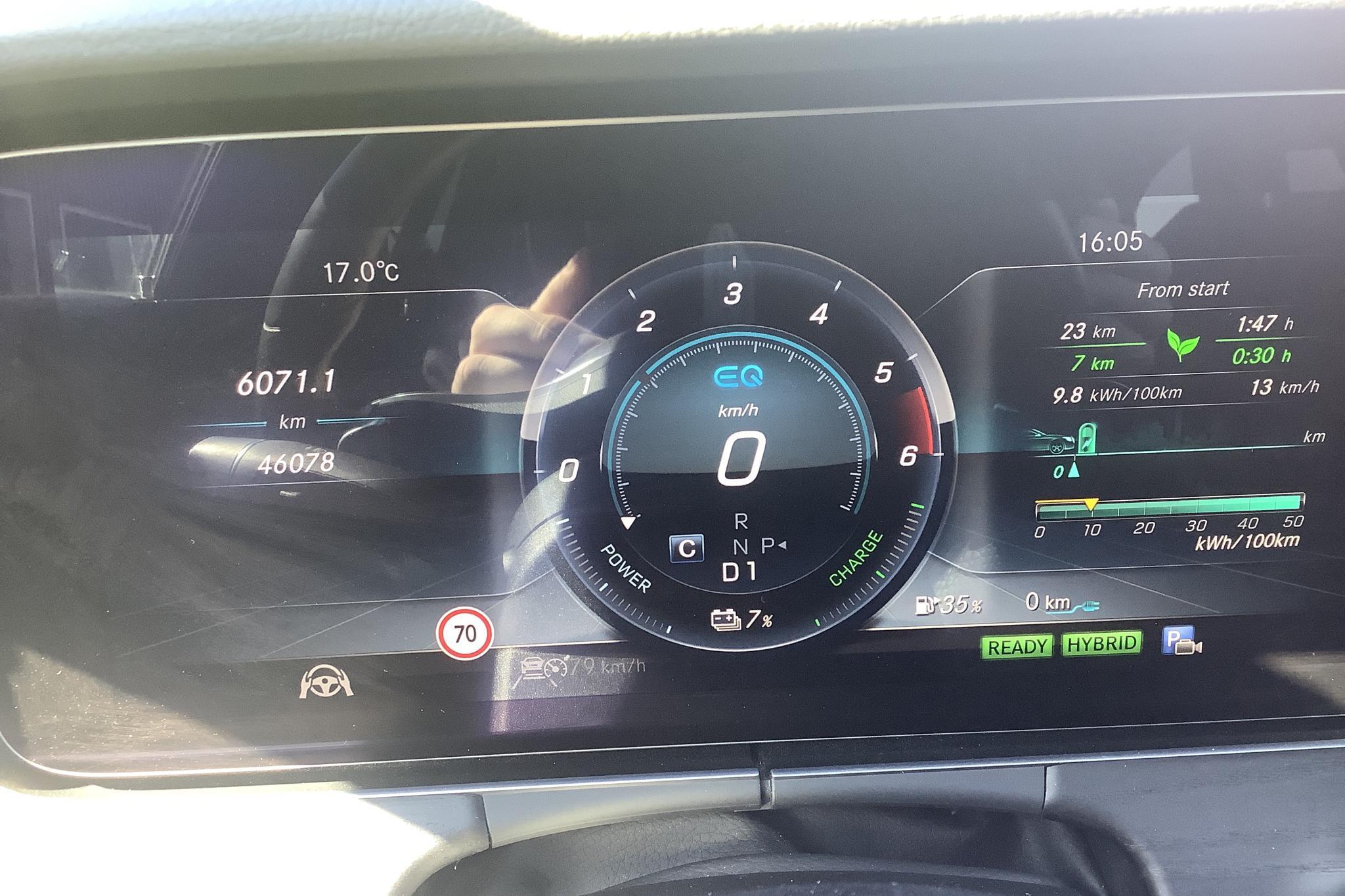 Mercedes E 300 de Kombi S213 (316hk) - 4 607 mil - Automat - grå - 2019