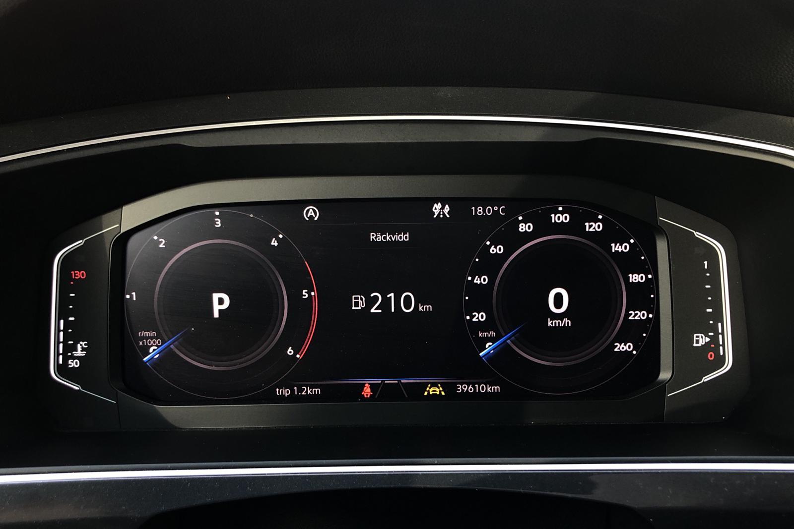 VW Tiguan 2.0 TDI 4MOTION (190hk) - 3 961 mil - Automat - Dark Grey - 2020