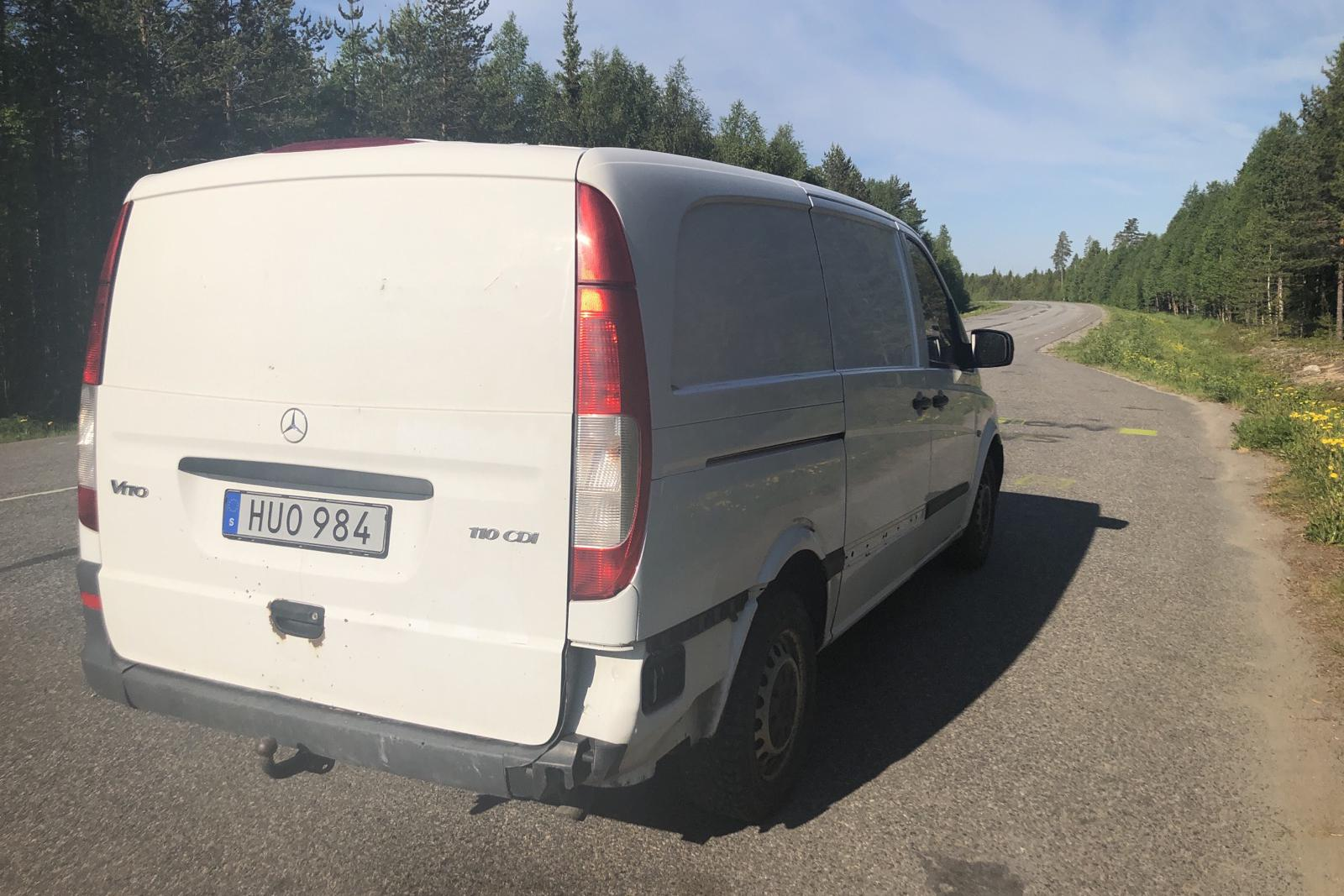 Mercedes Vito 110 CDI W639 (95hk) - 210 410 km - Manual - white - 2013