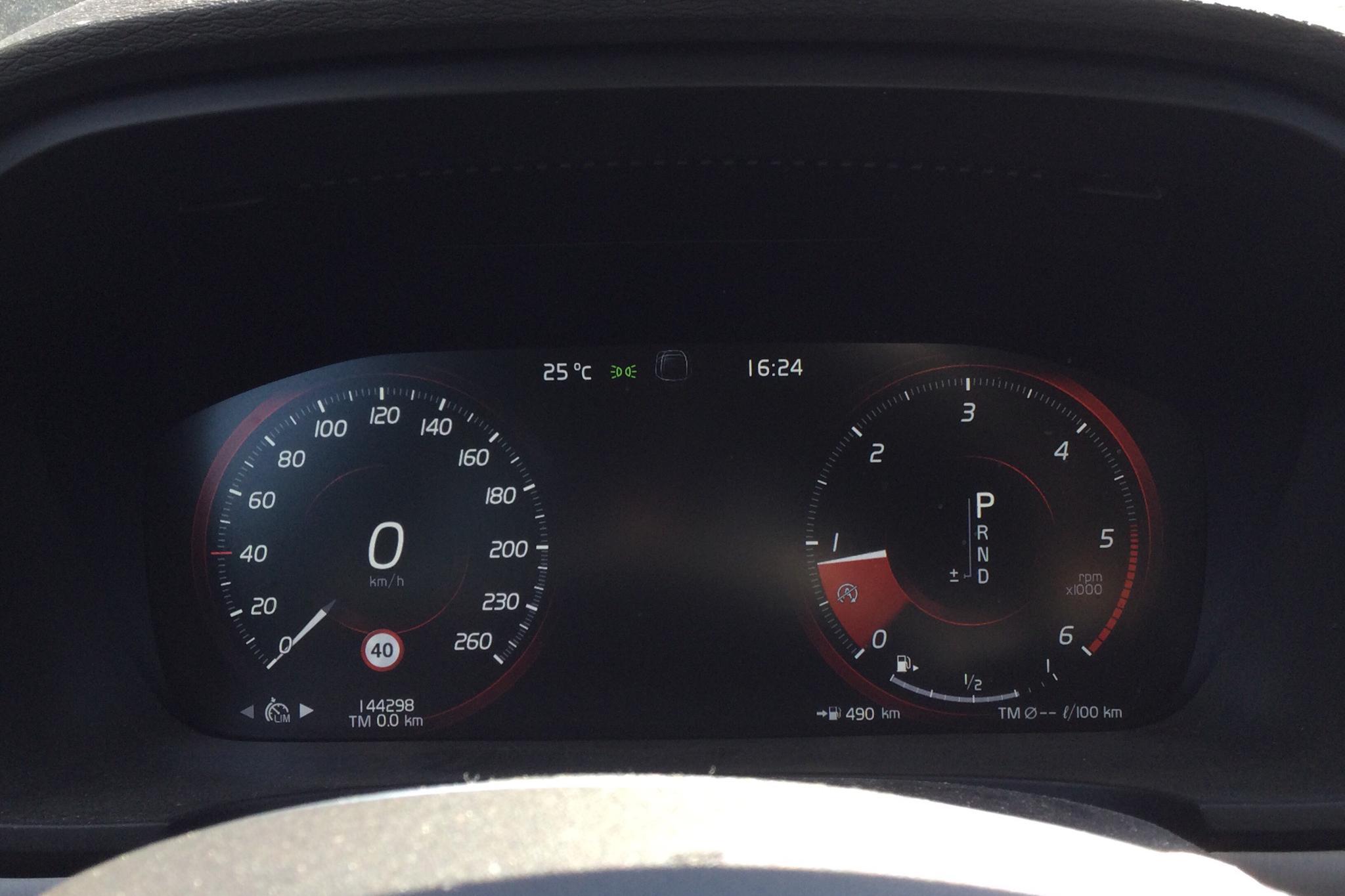 Volvo V90 D4 (190hk) - 14 430 mil - Automat - svart - 2018