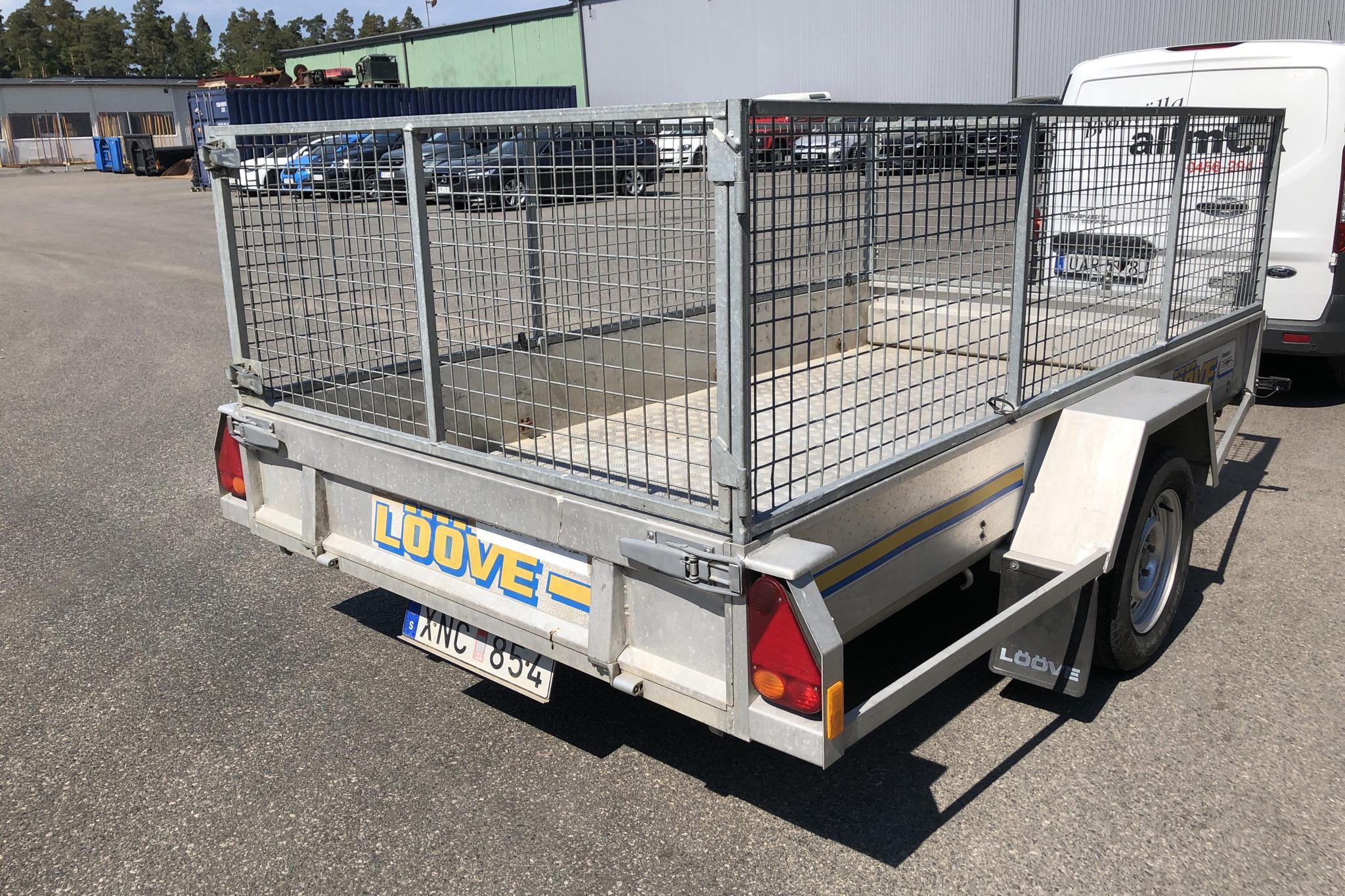 LÖÖVESLÄPET LS 1300 Gallersläpvagn med tippfunktion - 0 mil - grå - 2006