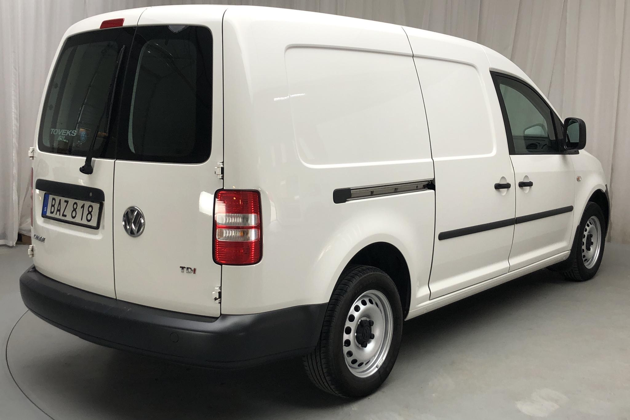 VW Caddy 1.6 TDI Maxi Skåp (102hk) - 175 100 km - Automatic - white - 2015