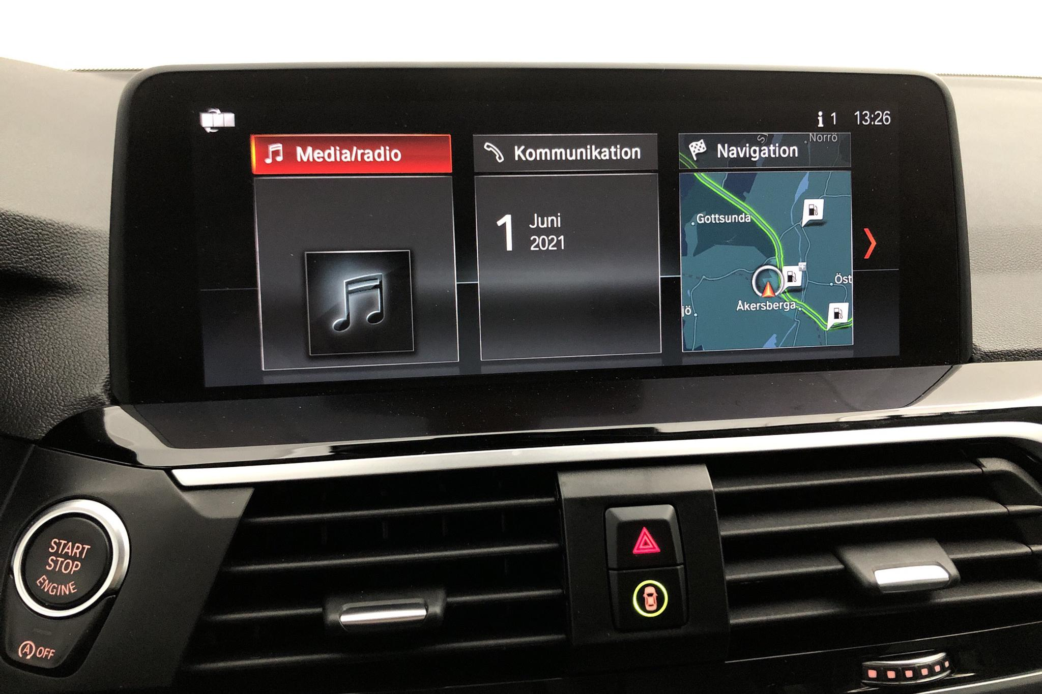 BMW X3 xDrive20d, G01 (190hk) - 55 030 km - Automatic - white - 2019
