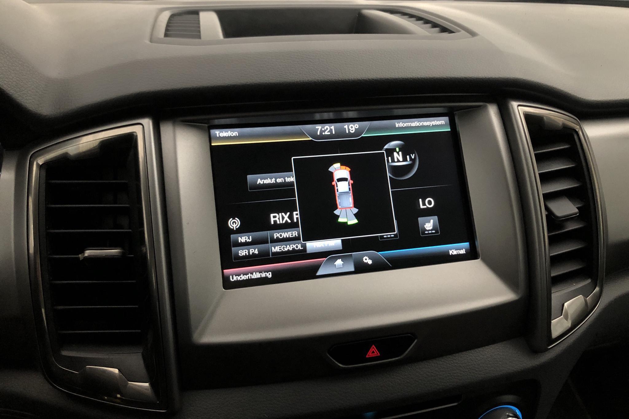 Ford Ranger 3.2 TDCi 4WD (200hk) - 12 418 mil - Automat - vit - 2016