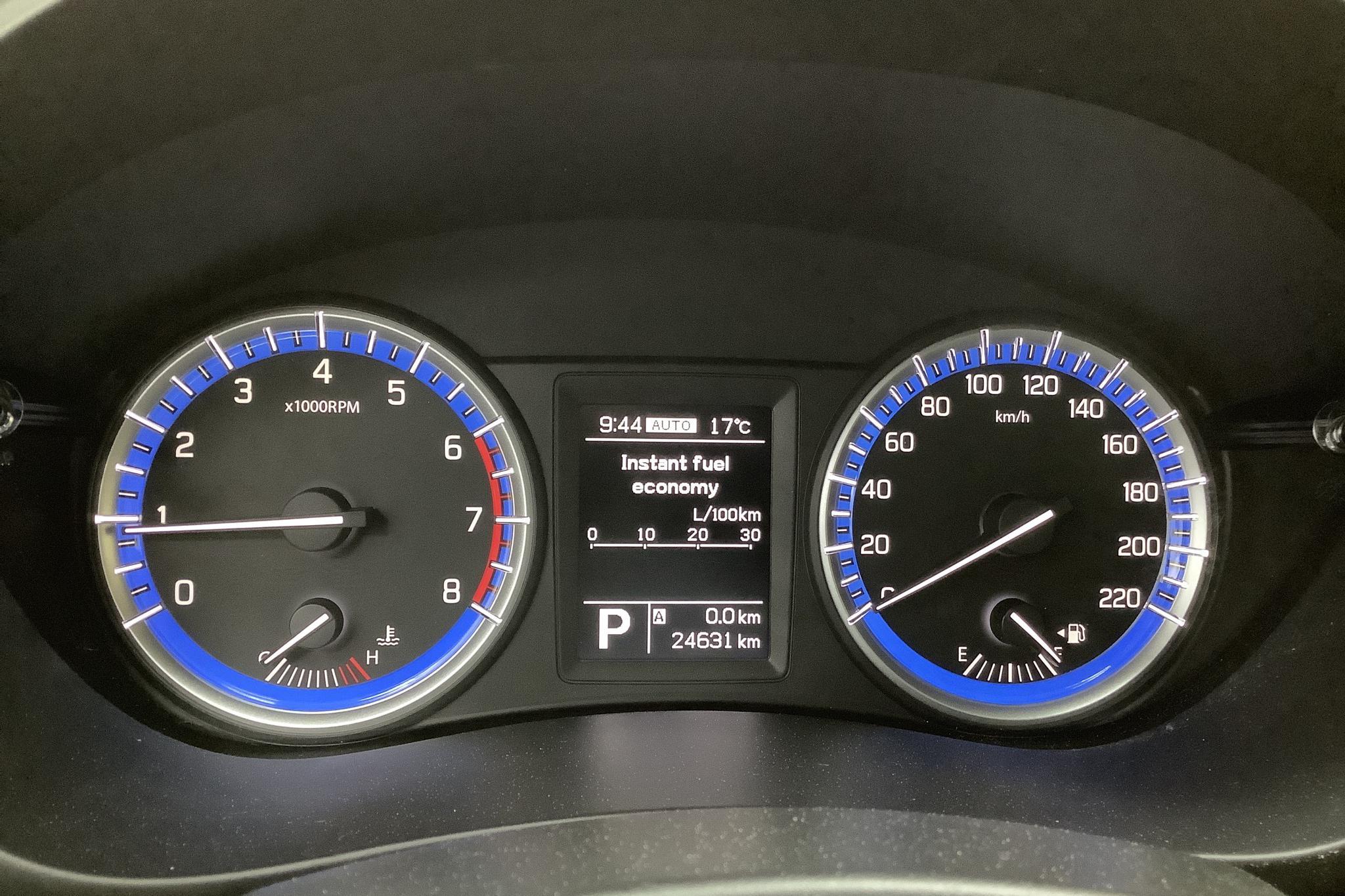 Suzuki S-Cross 1.6 4x4 (120hk) - 2 464 mil - Automat - Dark Grey - 2016